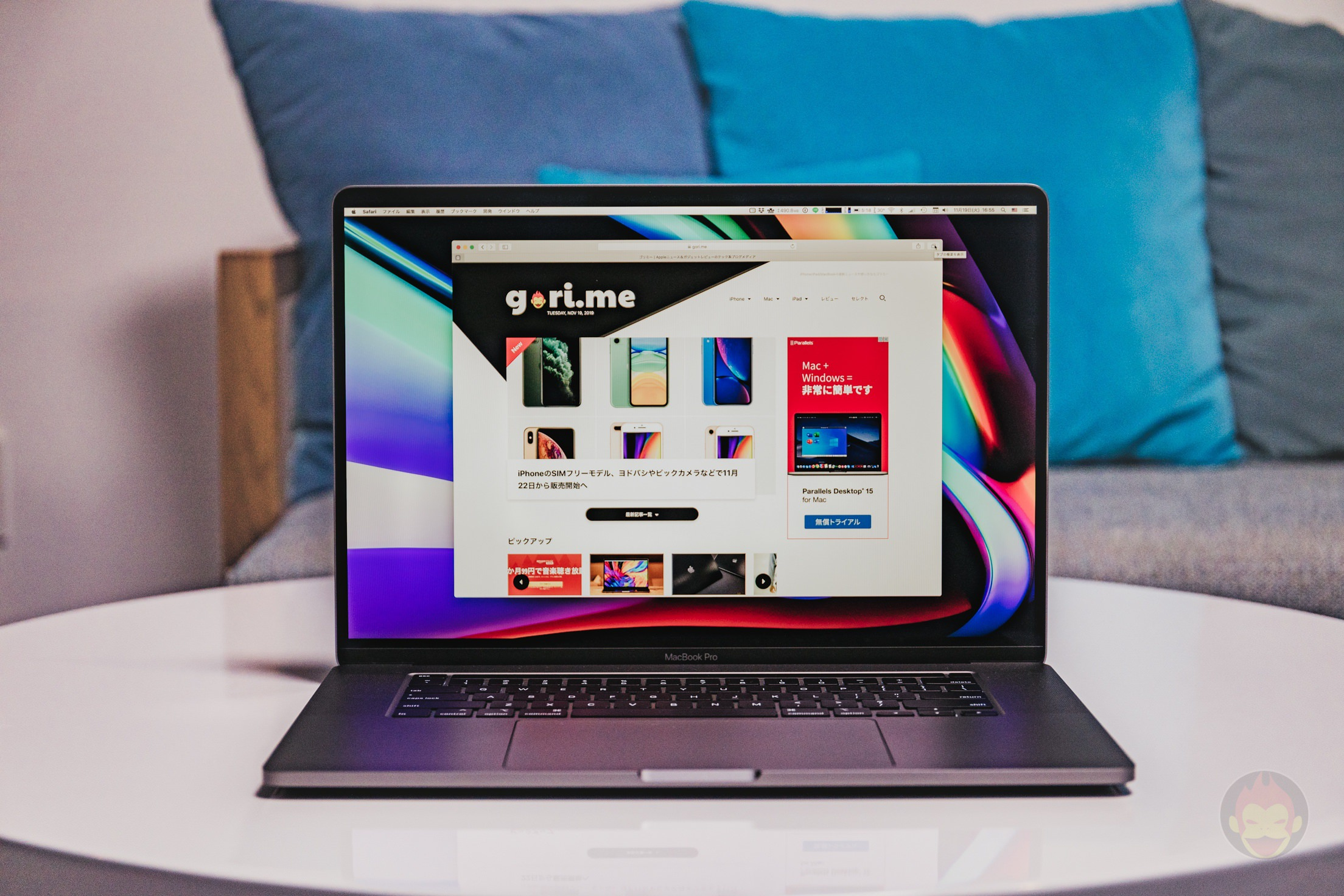 MacBook-Pro-2019-16inch-Review-GoriMe-Top