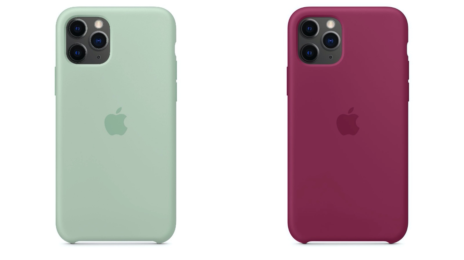 New Silicone Cases for iPhone11Pro Series
