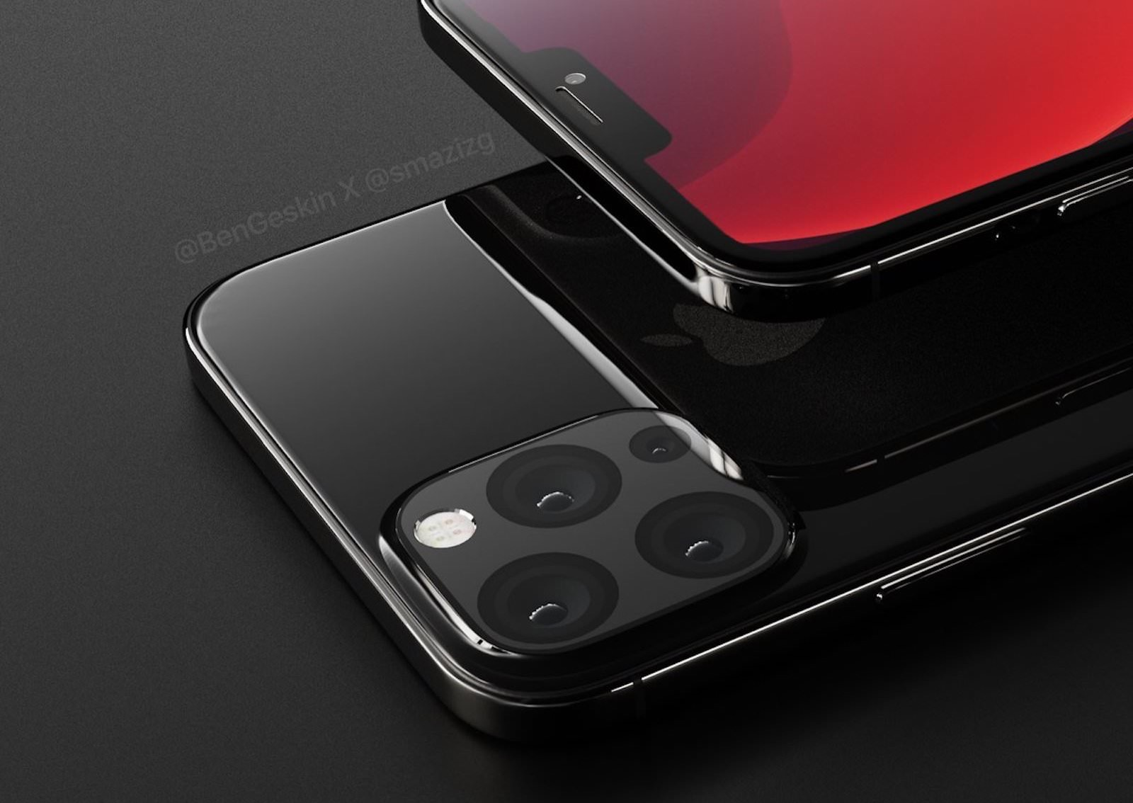 Iphone 2020 concept image