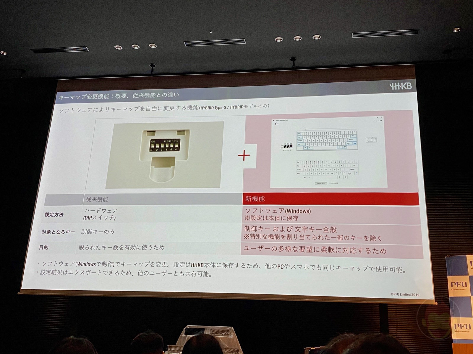 Happy Hacking Keyboard New Model Presentation 07