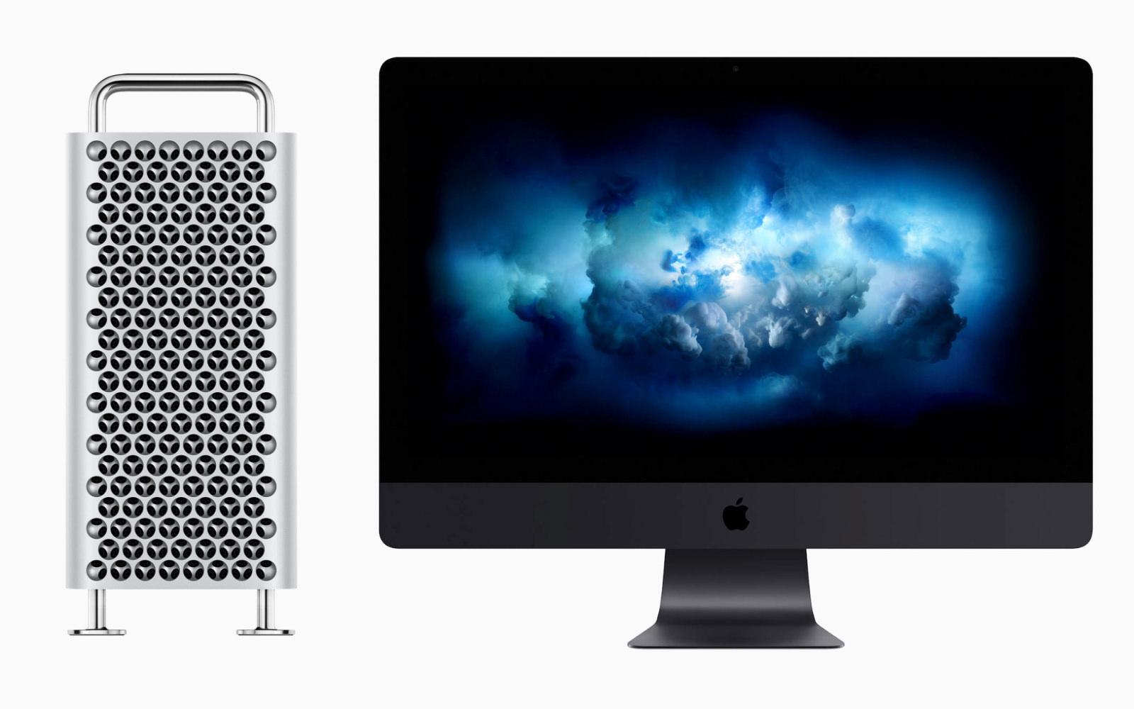 MacPro and iMacPro