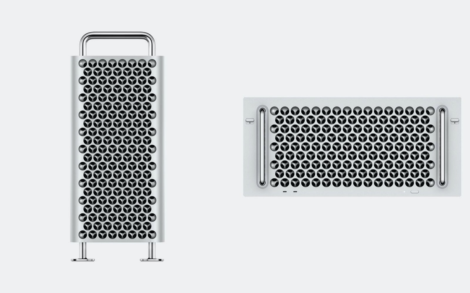 New mac pro 2019 tower and rack