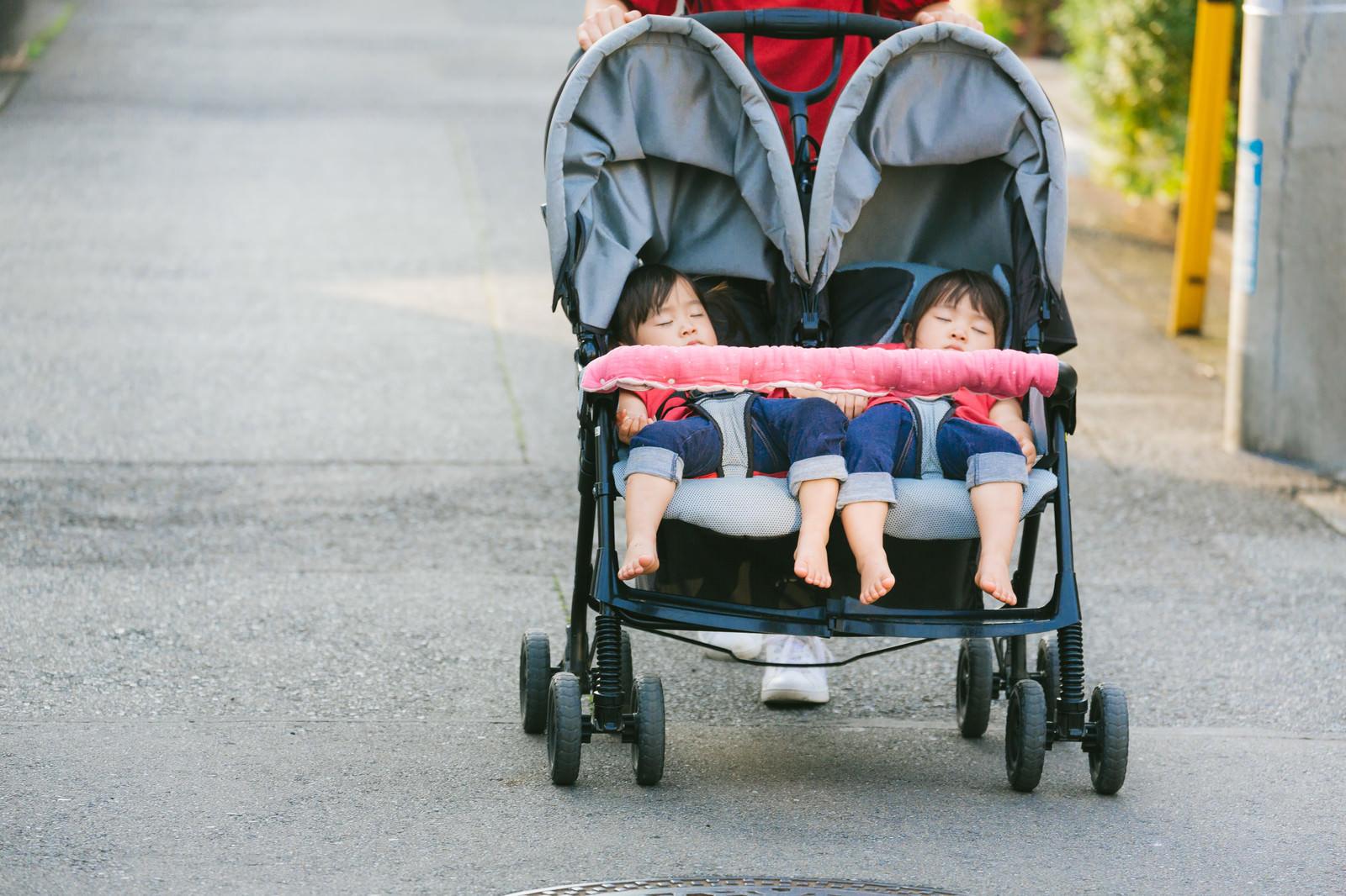 Aomidori0I9A9302 TP V kids on babycar