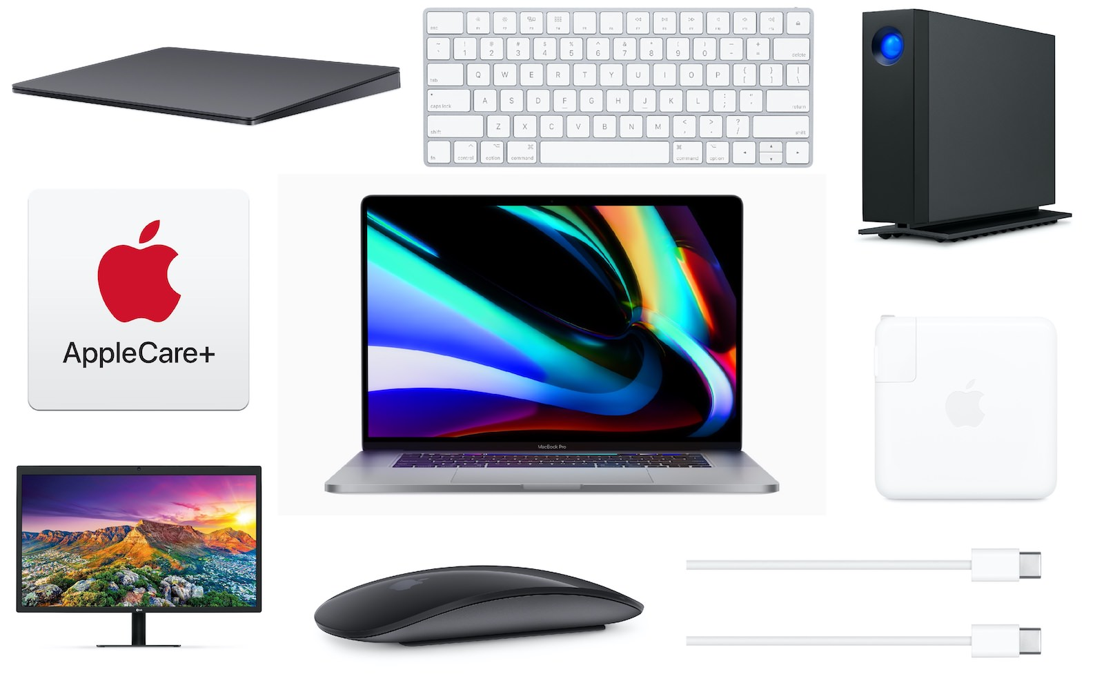 What to buy at apple for mbp16