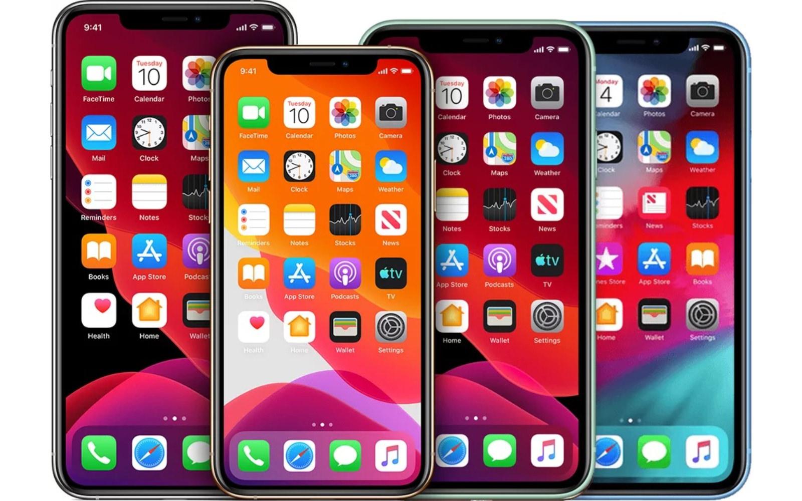 2020 iphones four models