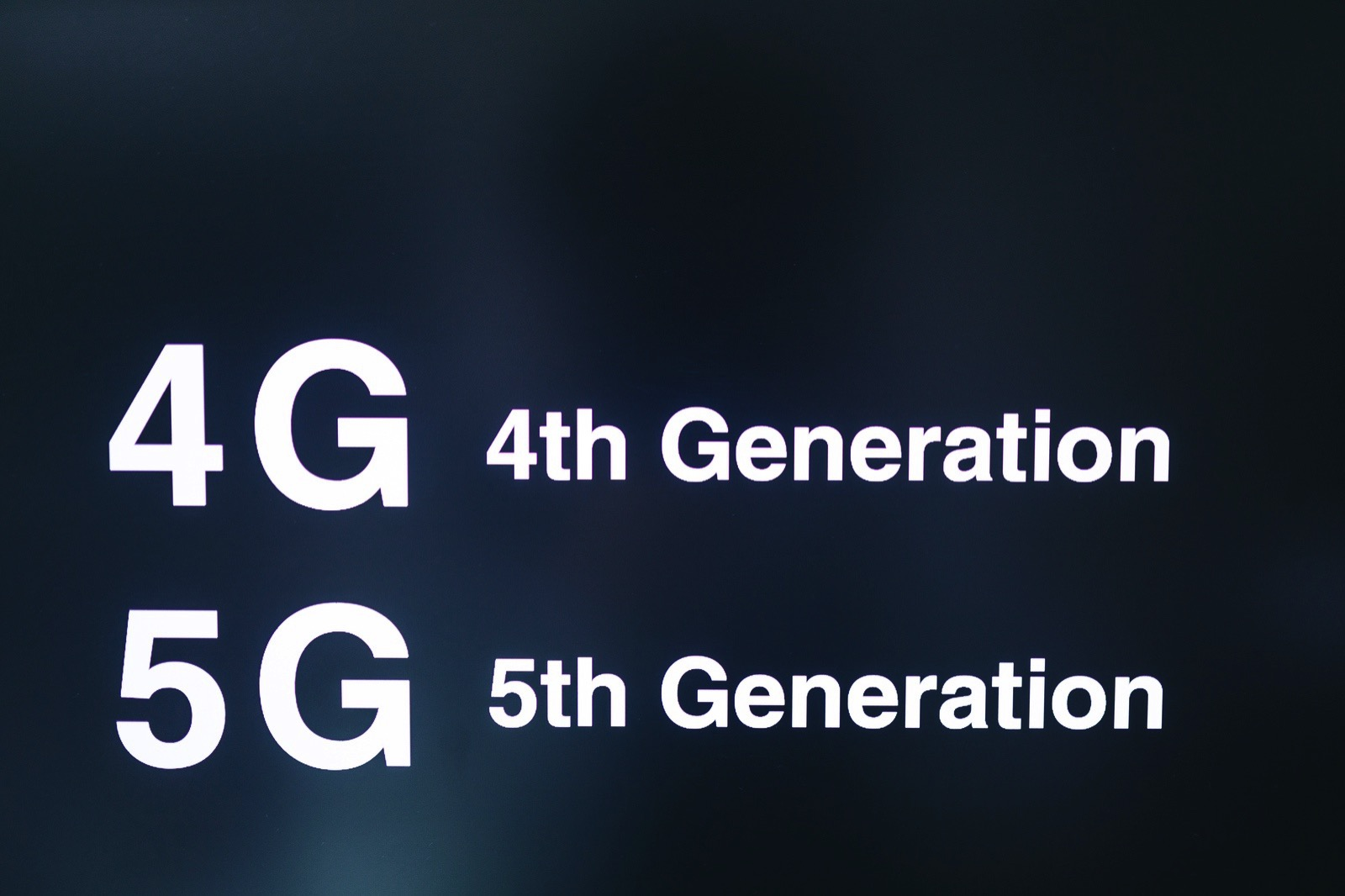 5G is 5th gen not 5GH 46
