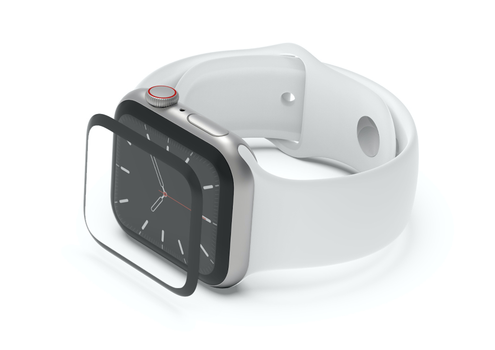 SCREENFORCE™ TrueClear™ Curve Screen Protection For Latest Apple Watches