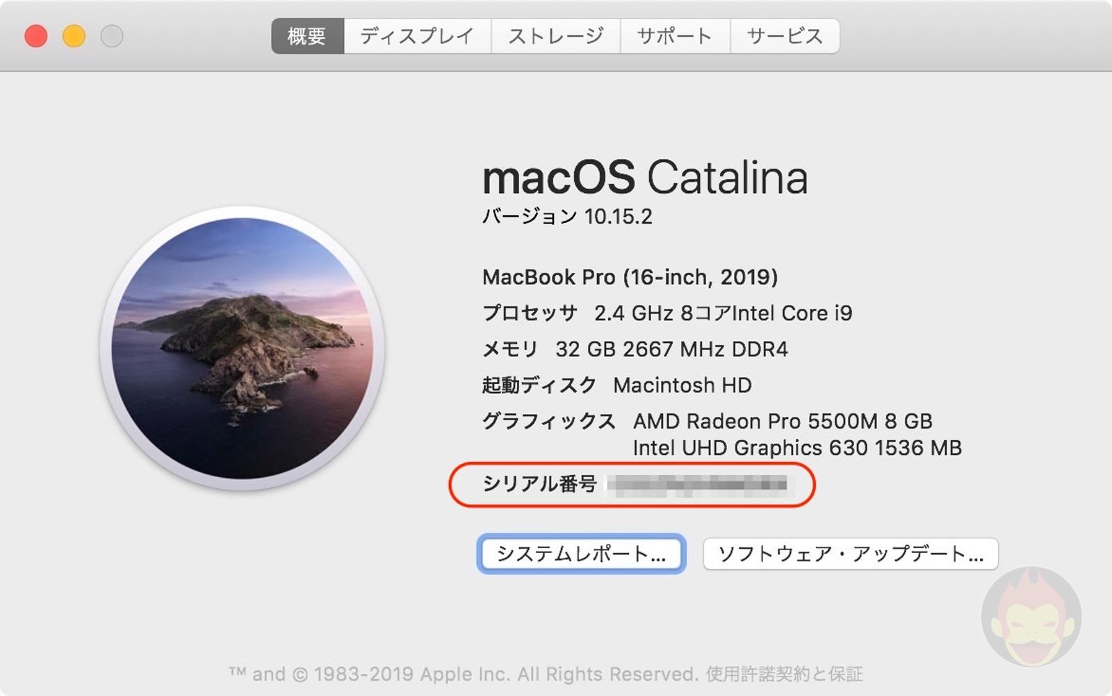 Mac Serial Number 01
