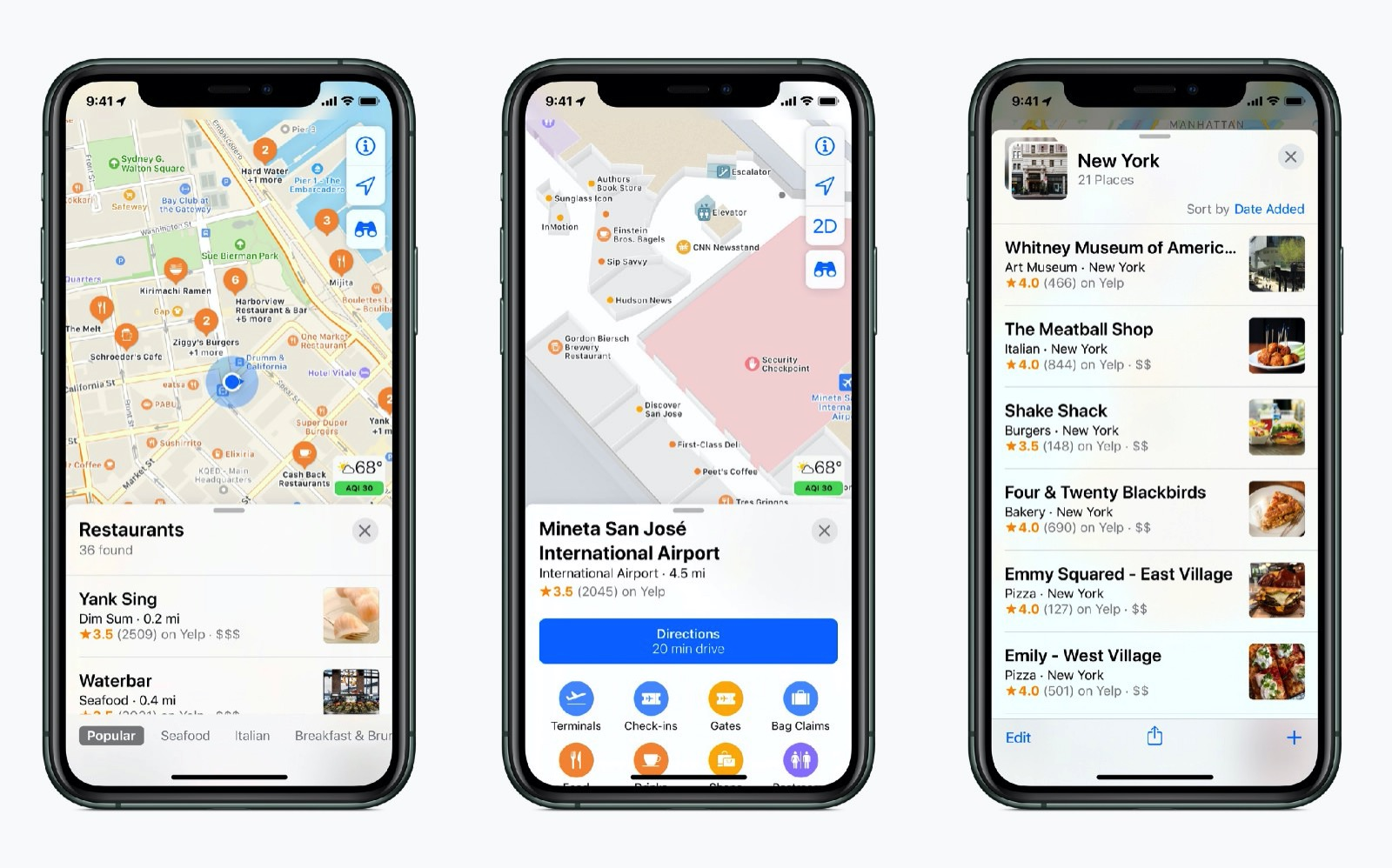 New Apple Maps complete in usa