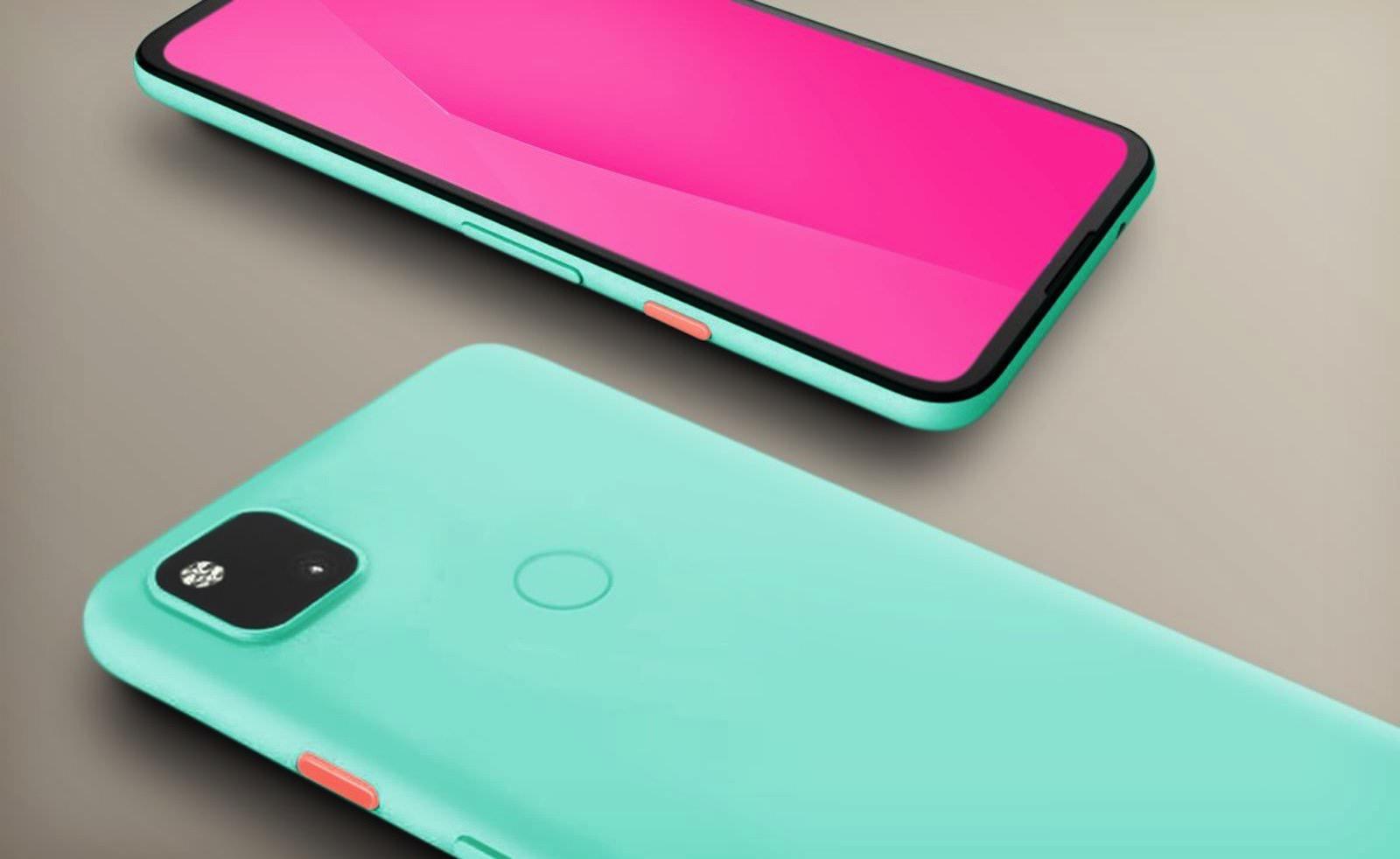 Pixel 4a new color