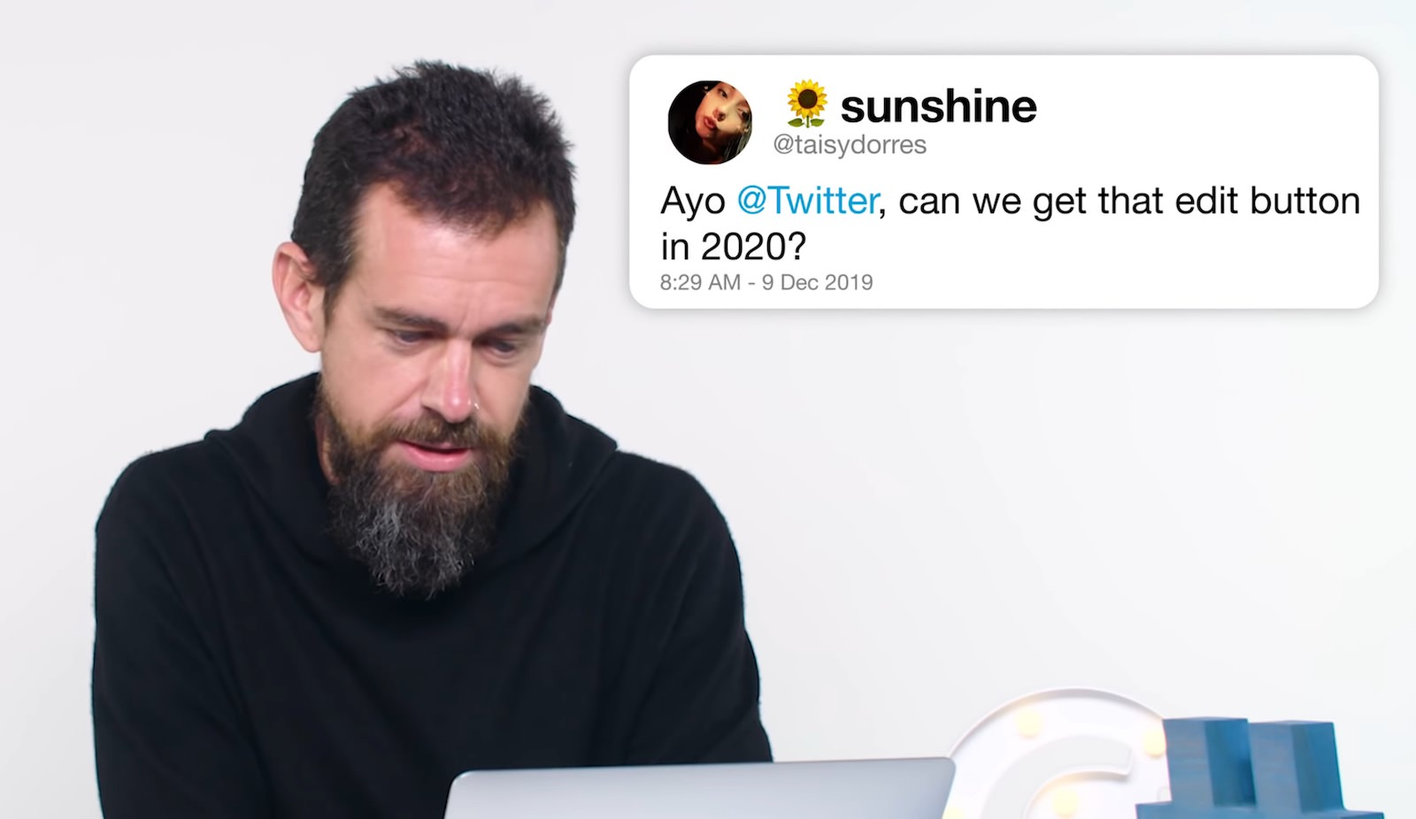 Twitter Jack Dorsey denies a edit button