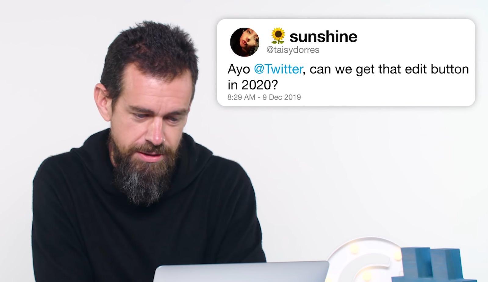 Twitter Jack Dorsey denies a edit button