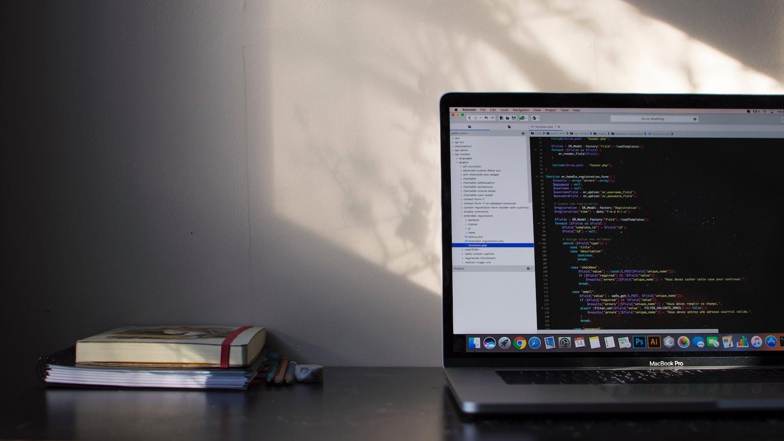 Emile perron xrVDYZRGdw4 unsplash macbook pro coding