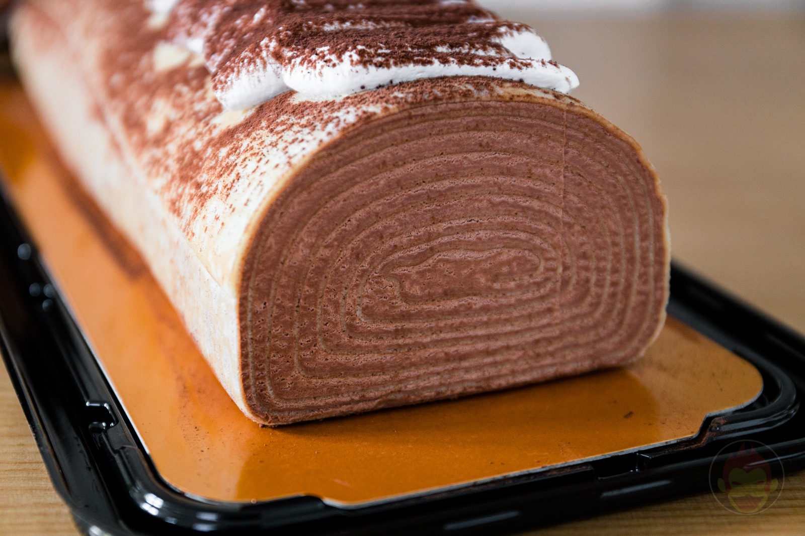 Chocolate Crape Roll Costco Dessert 09