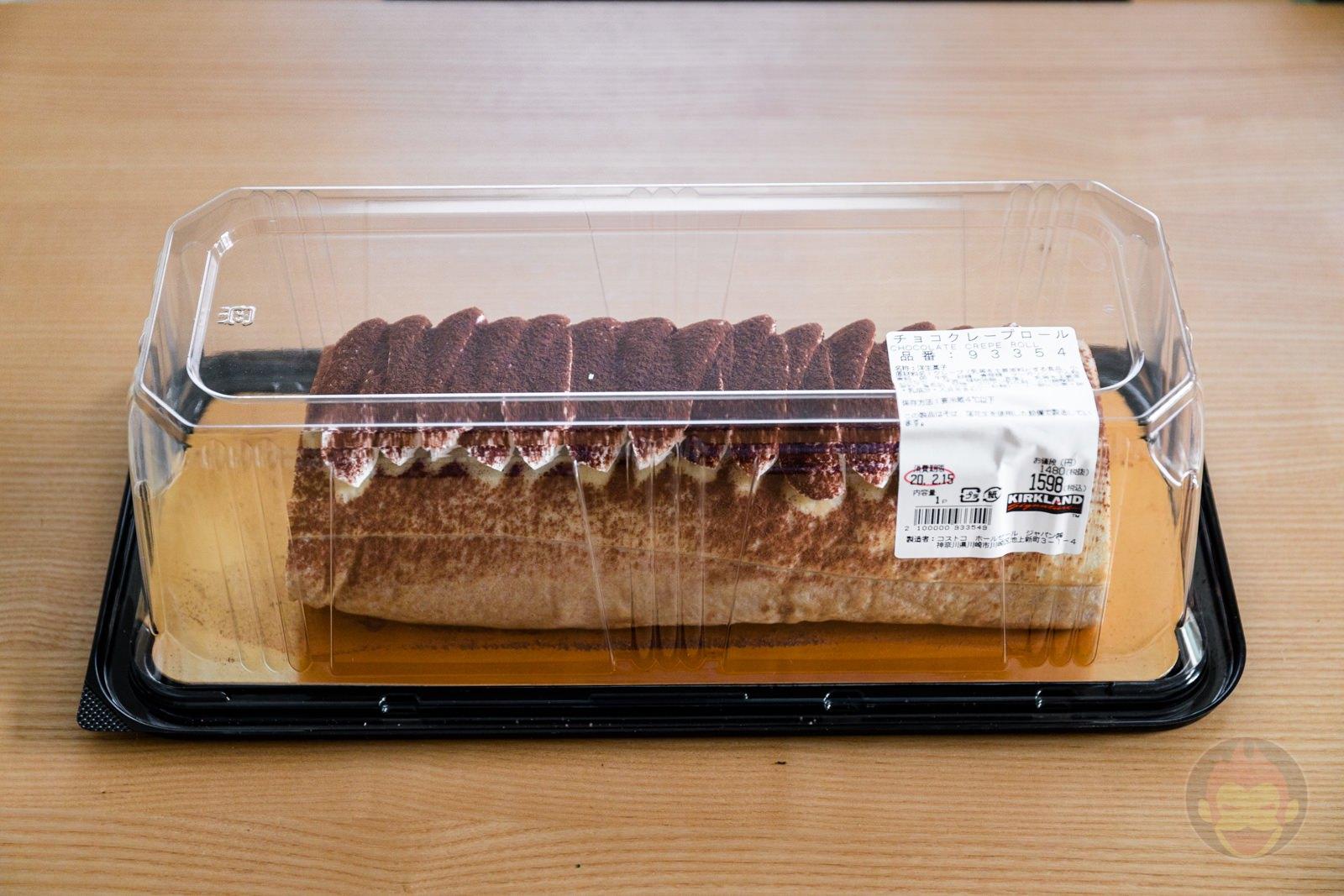 Chocolate Crape Roll Costco Dessert 11