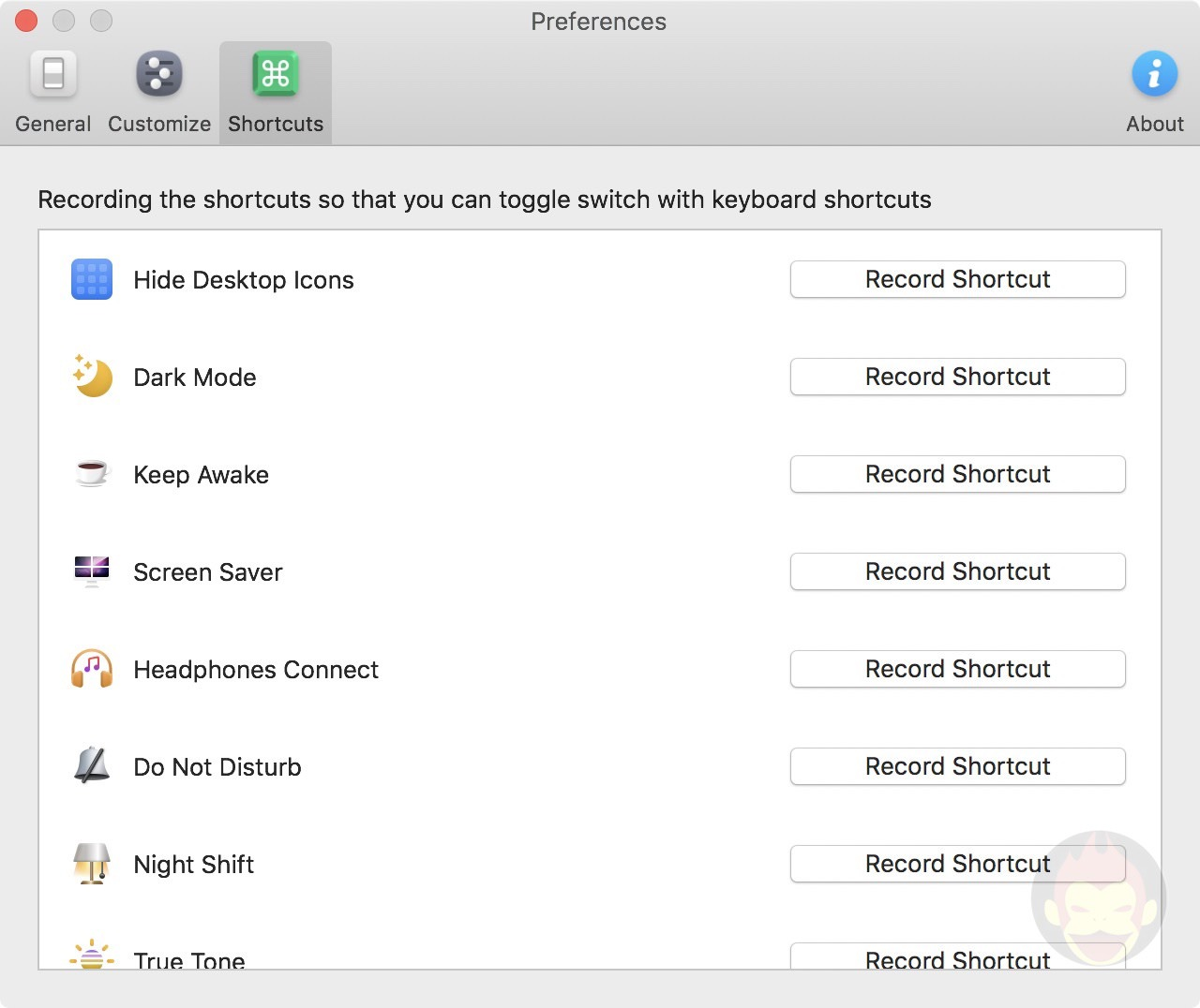 One Switch Mac App Settings 02