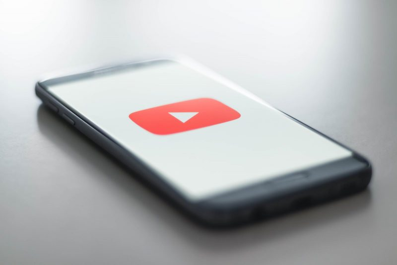 YouTube Icon on android smartphone