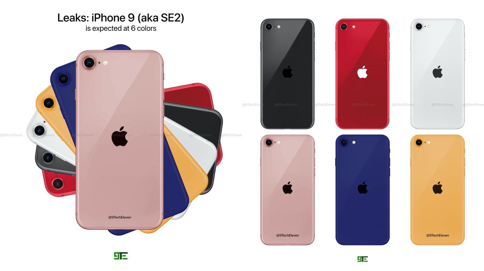 Iphone 9 se2 colos