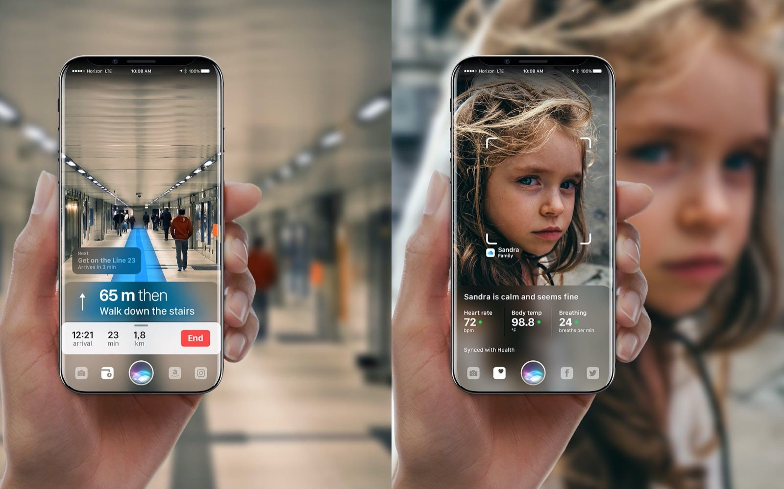 AR iPhone Concept image