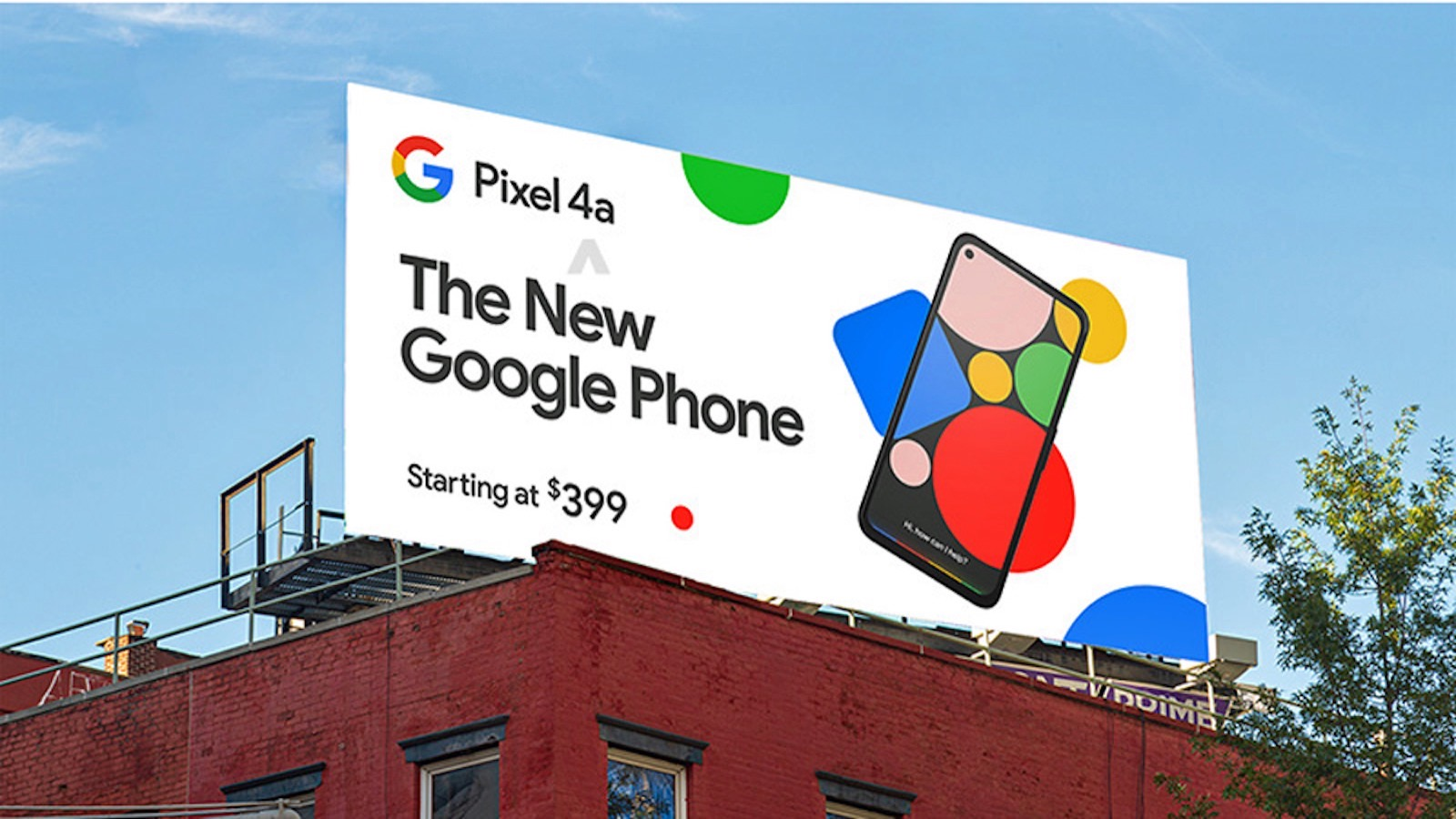 Pixel4a price is 399 2