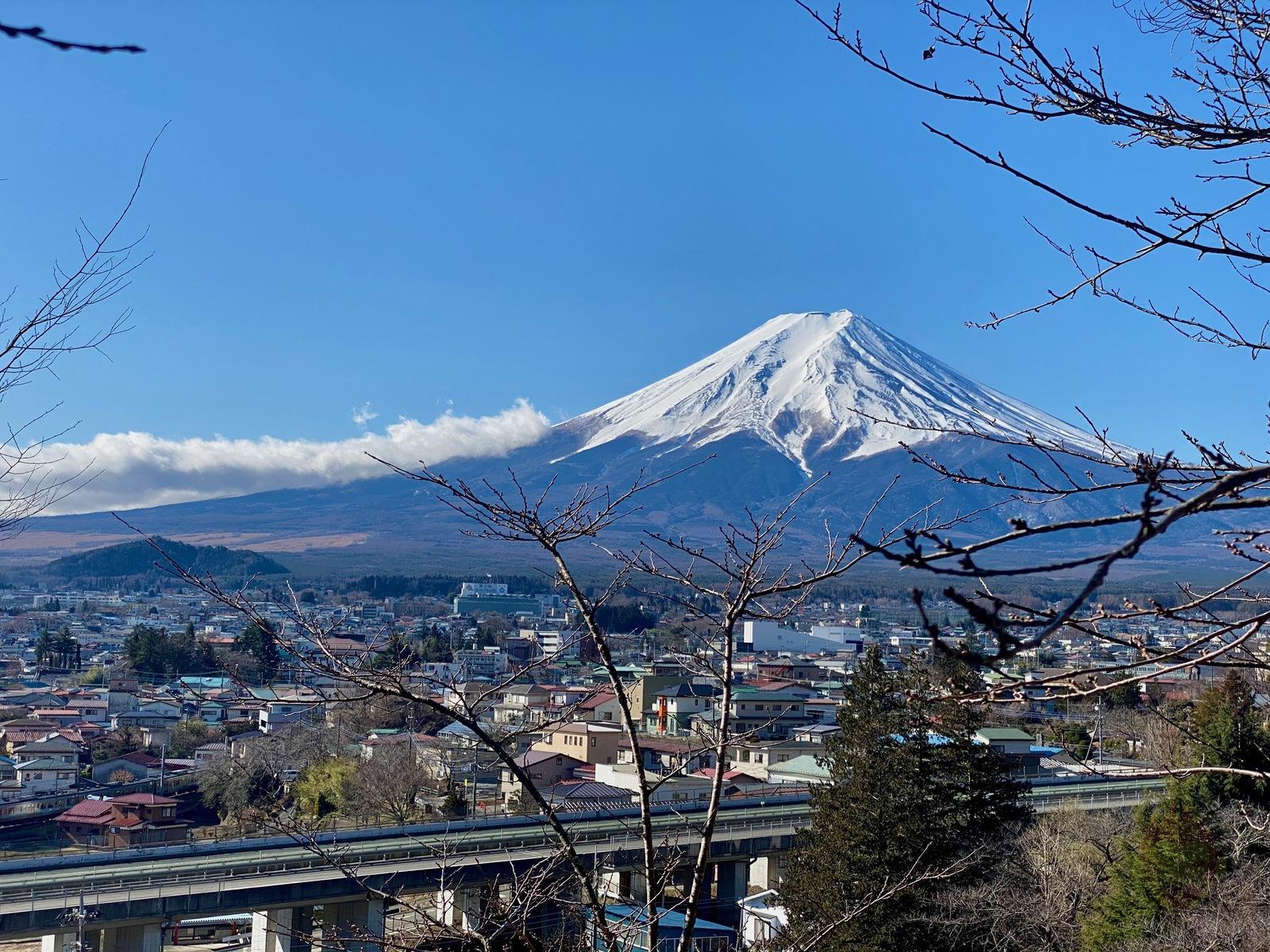 Yamanashi Arakurayamasangen Park Chureito 10