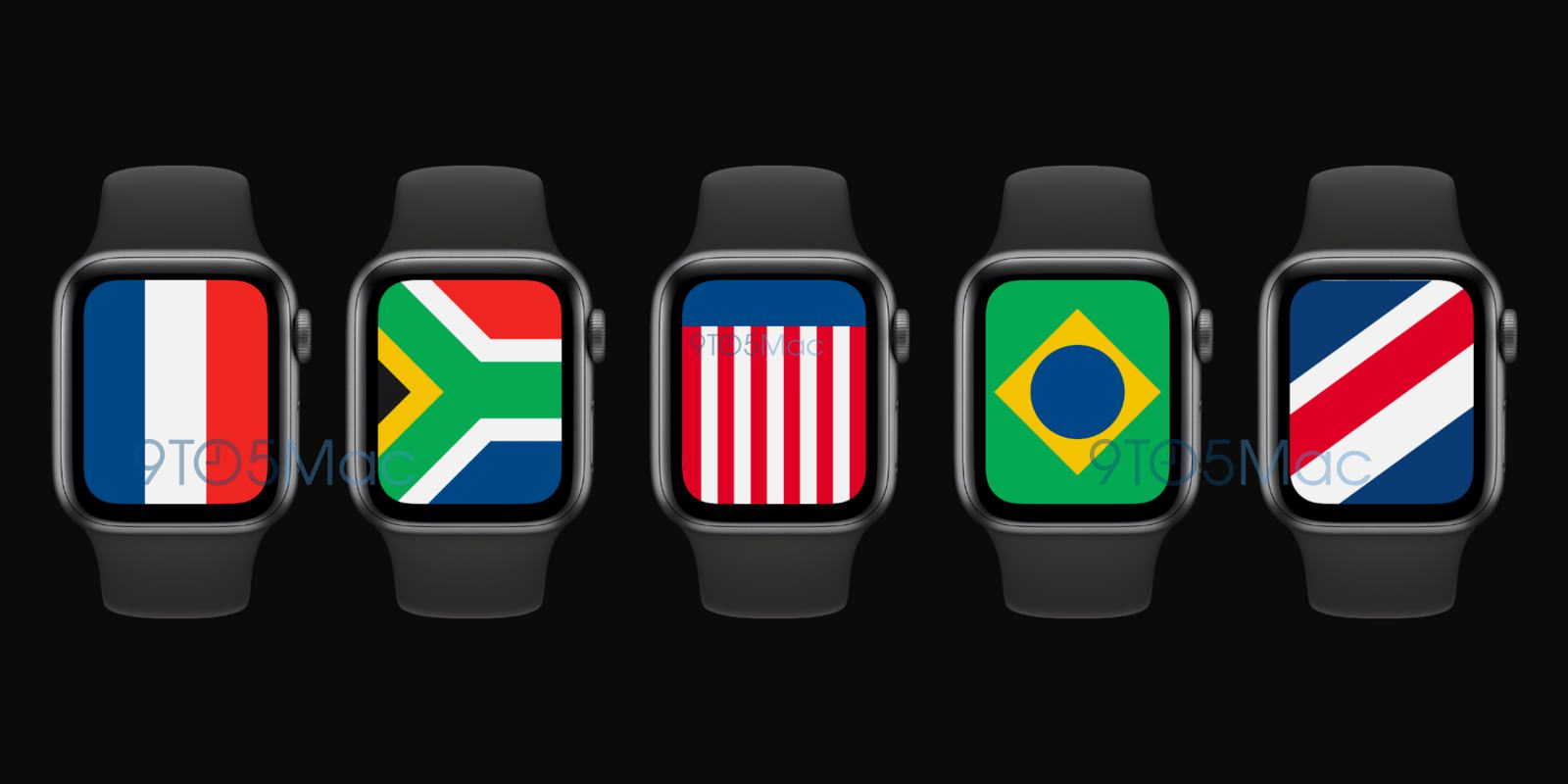 WatchOS 7 International watch face