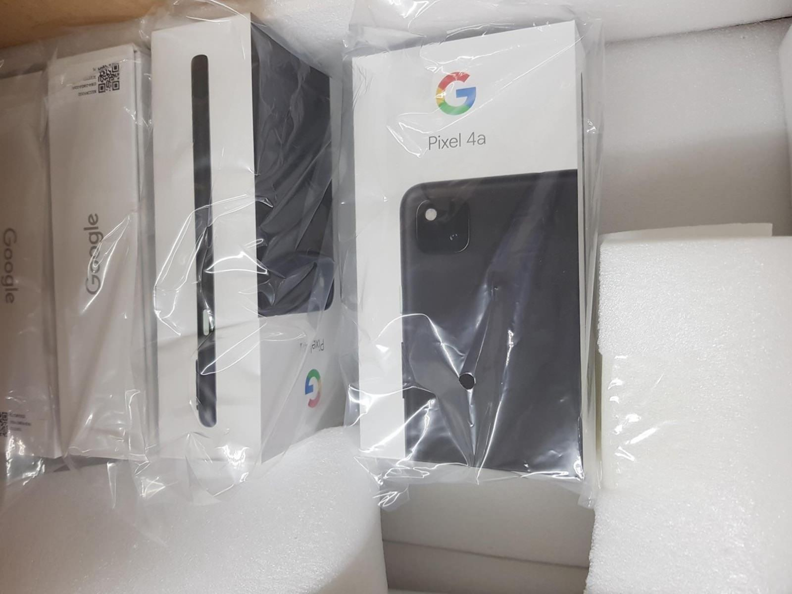 Google Pixel 4a package
