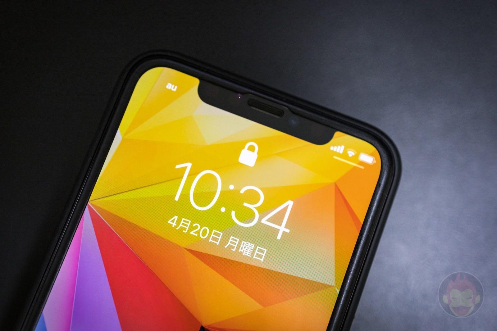 Iphone 11 pro notch 01