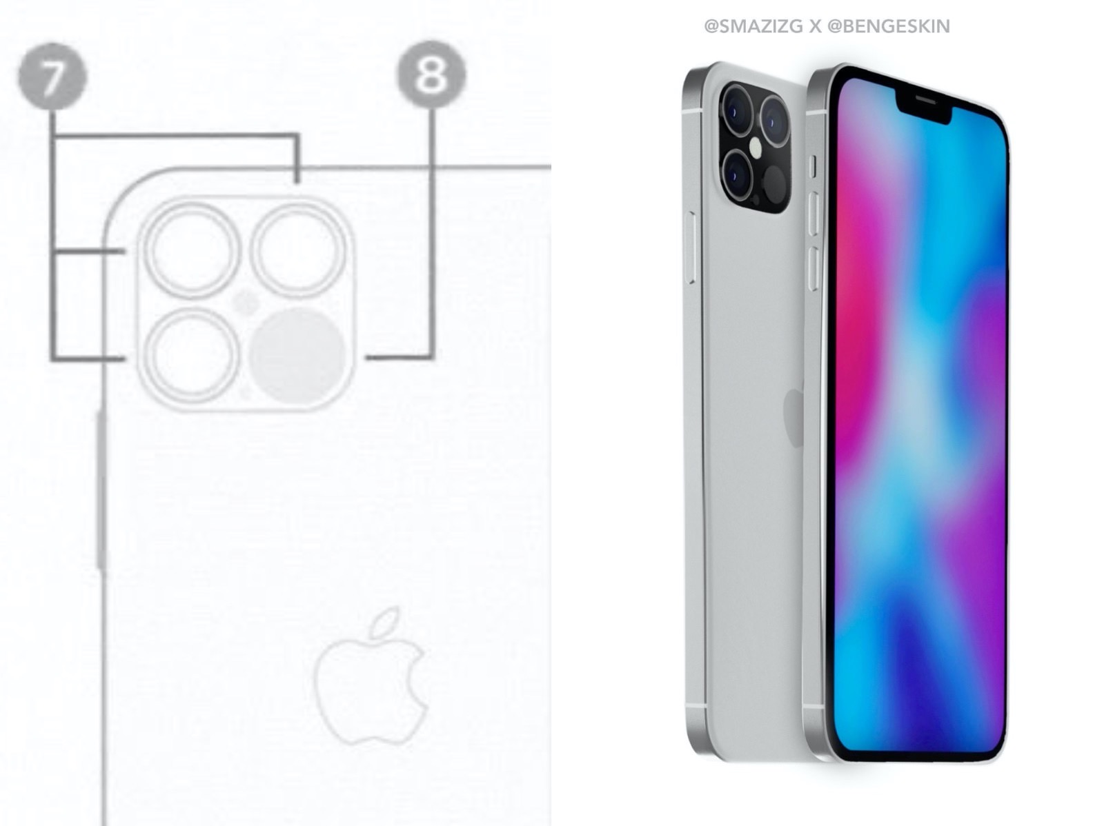 Iphone 12 camera leak and rending