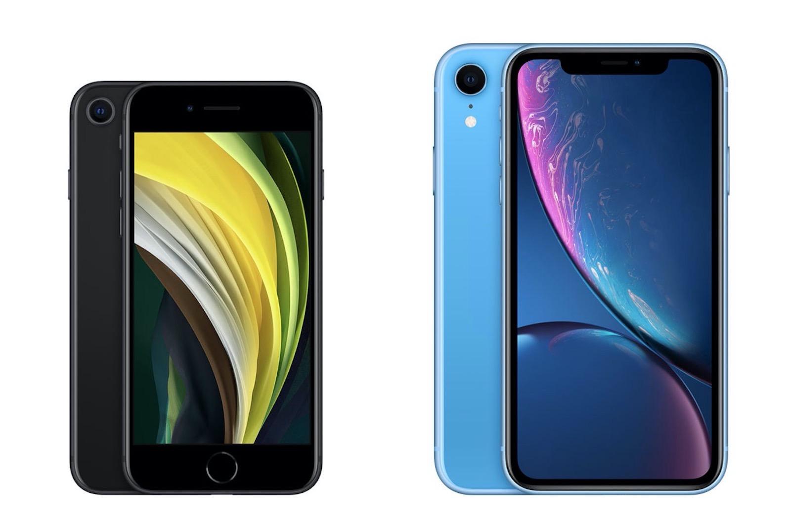 Iphone se vs iphonexr