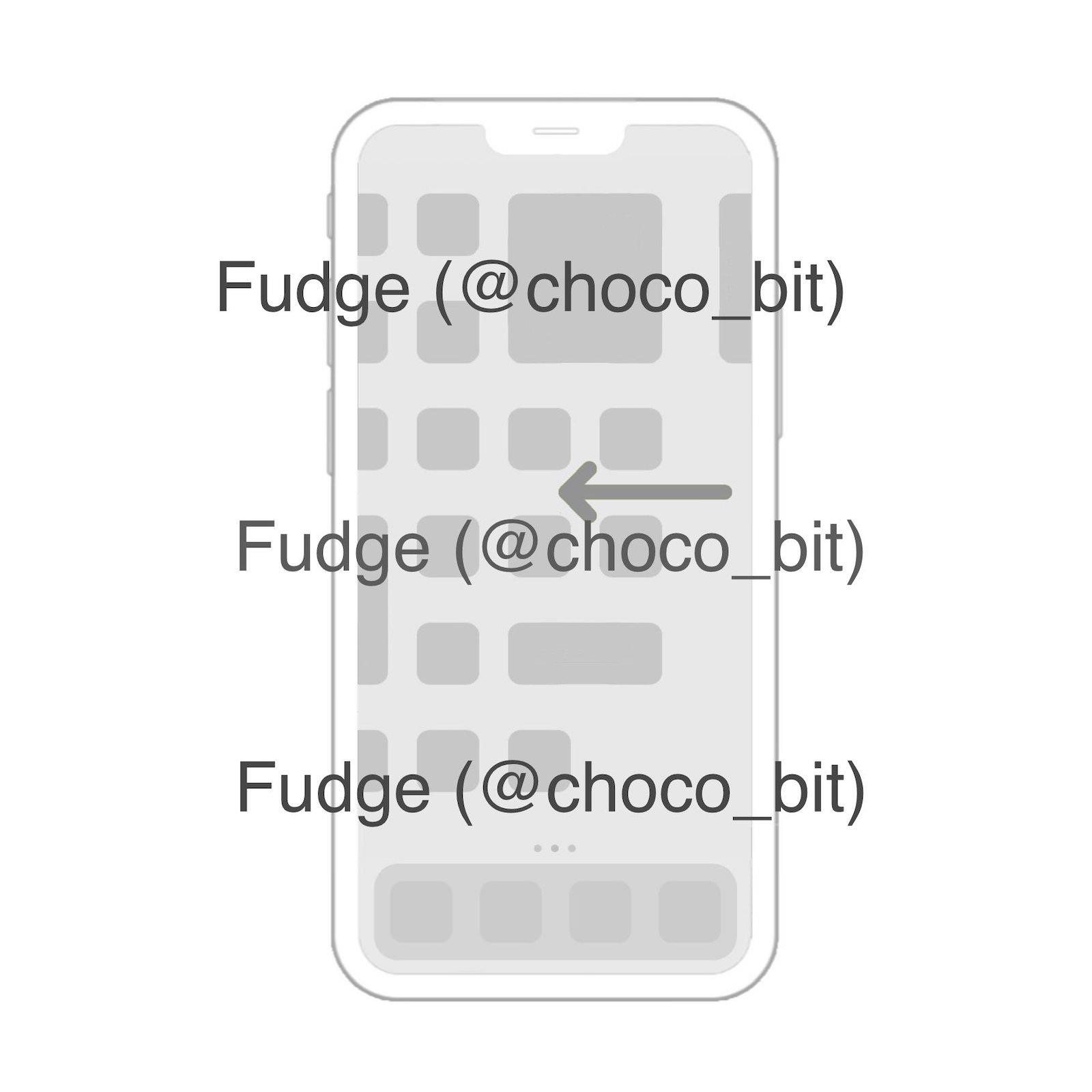 Widget homescreen iphone image