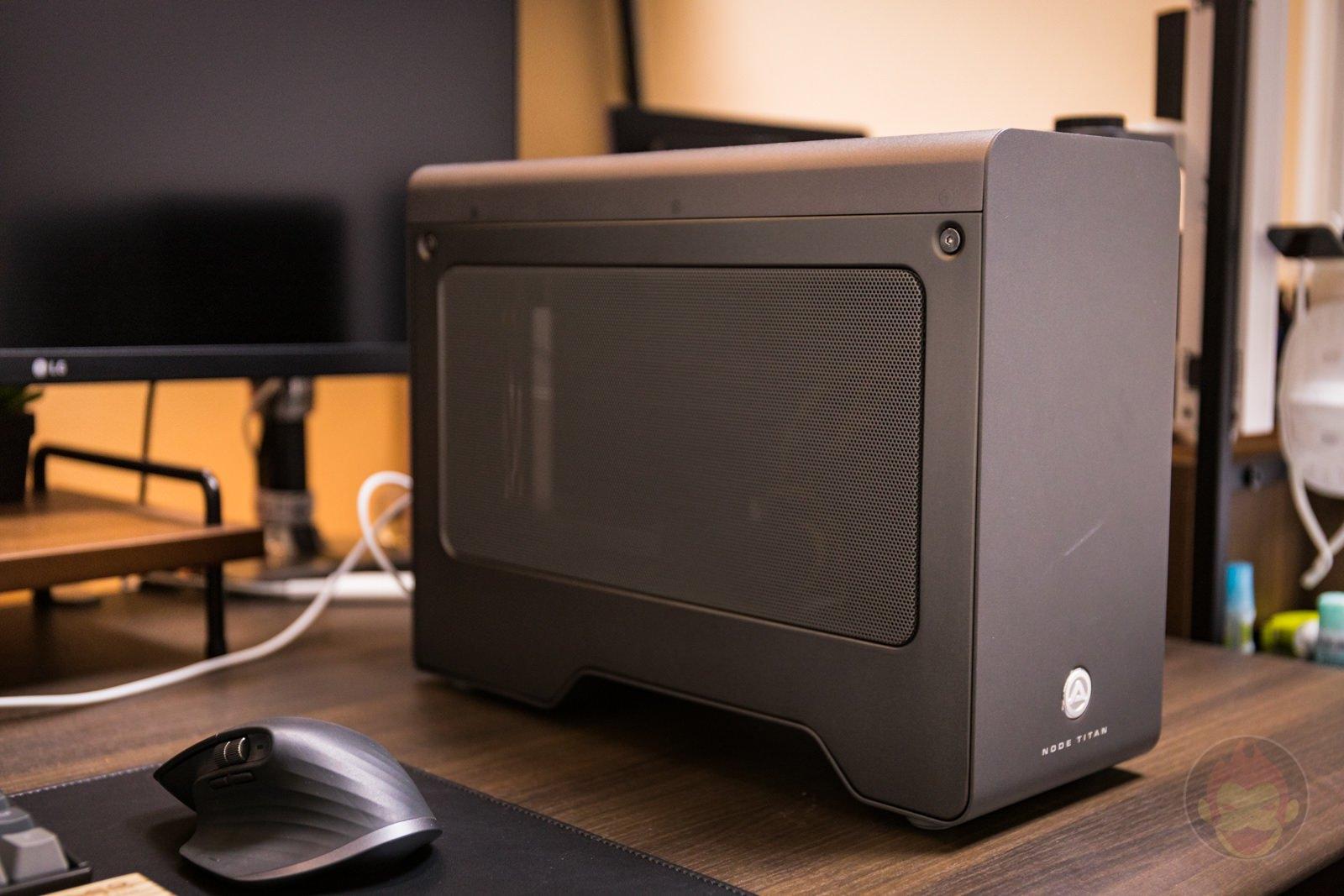AKiTiO Node Titan with msi AMD Radeon RX 5700 XT Review 01