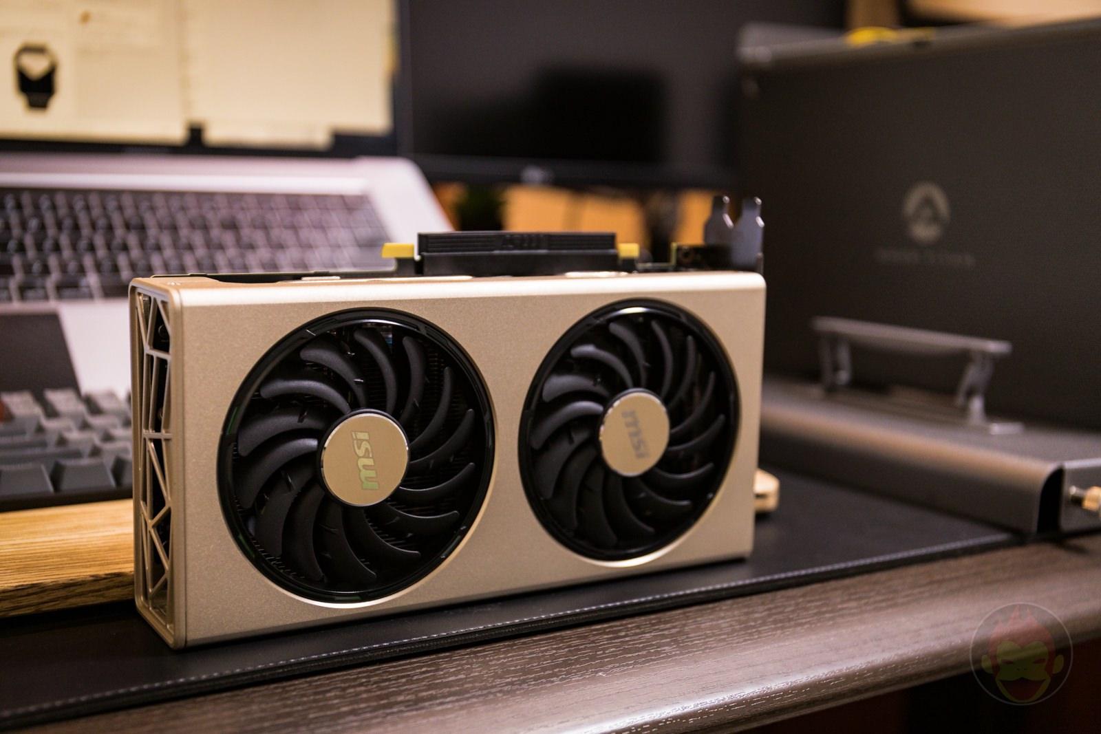 AKiTiO Node Titan with msi AMD Radeon RX 5700 XT Review 11