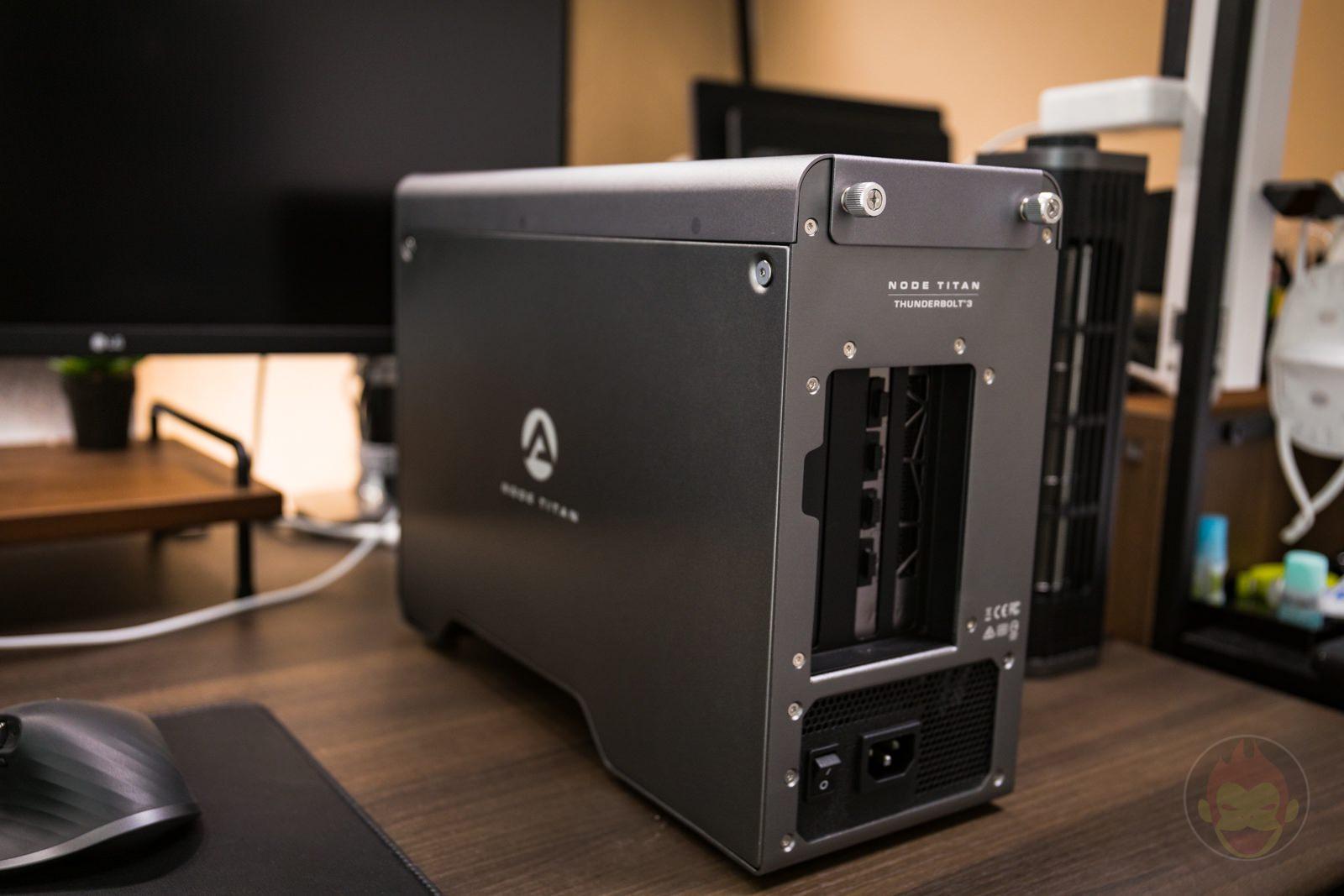 AKiTiO Node Titan with msi AMD Radeon RX 5700 XT Review 27