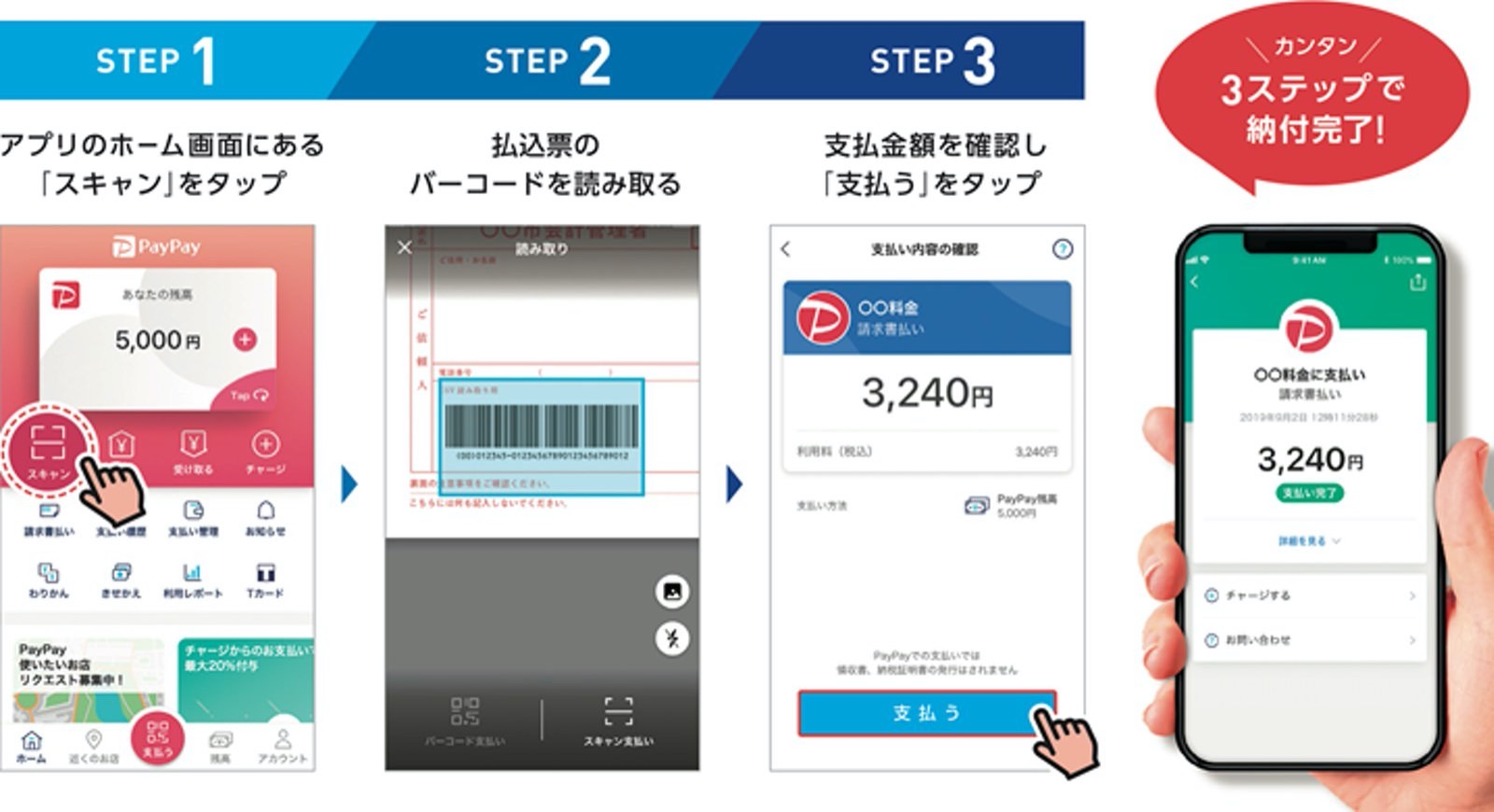 Nhk how to use paypay