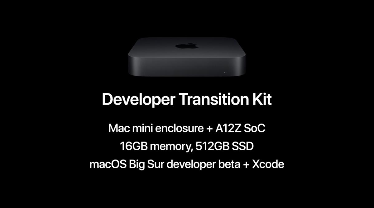 Apple Silicon Mac Mini Developer Transition Kit