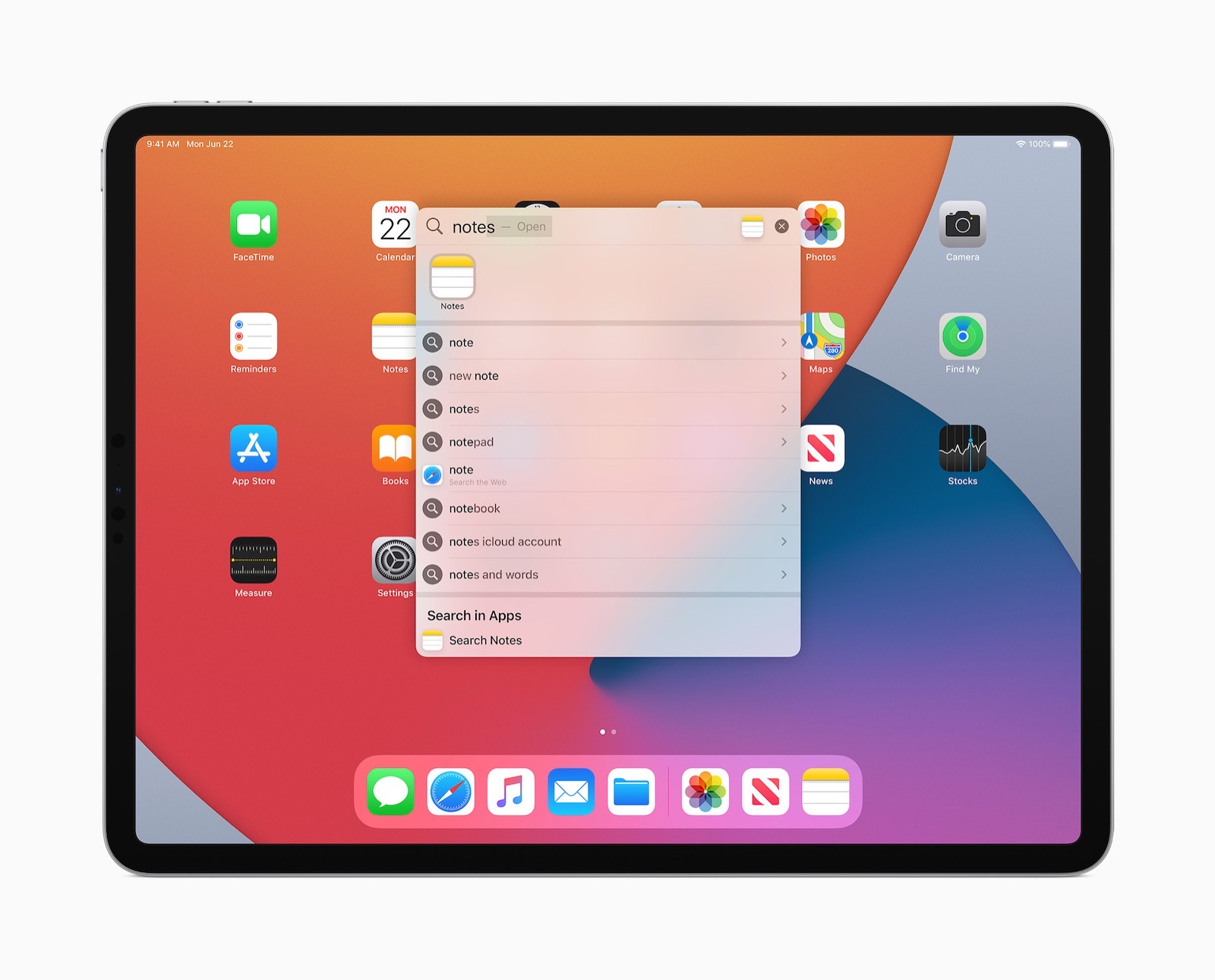 Apple ipados14 universalsearch sprngboard 062220