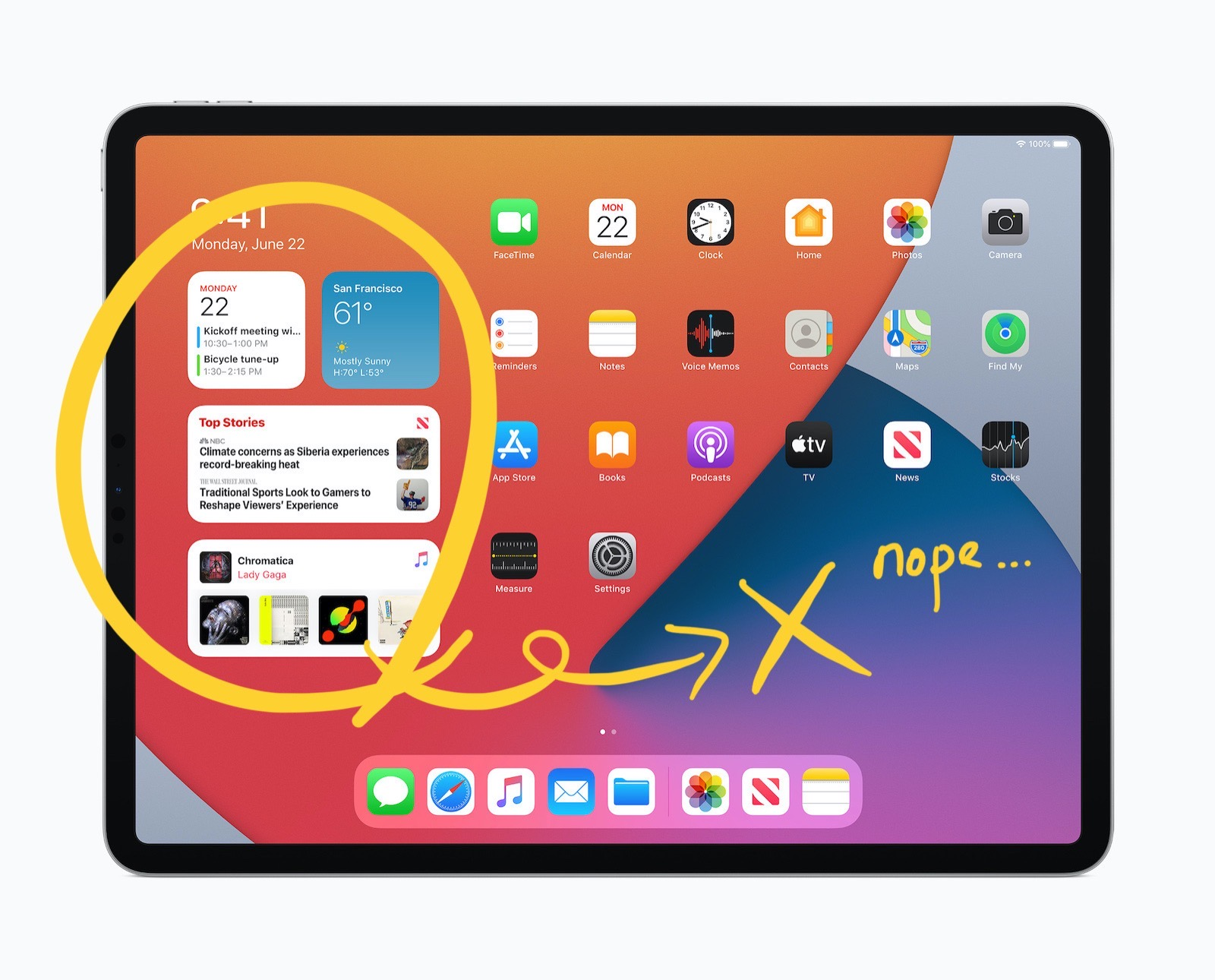 Apple ipados14 widgets 062220