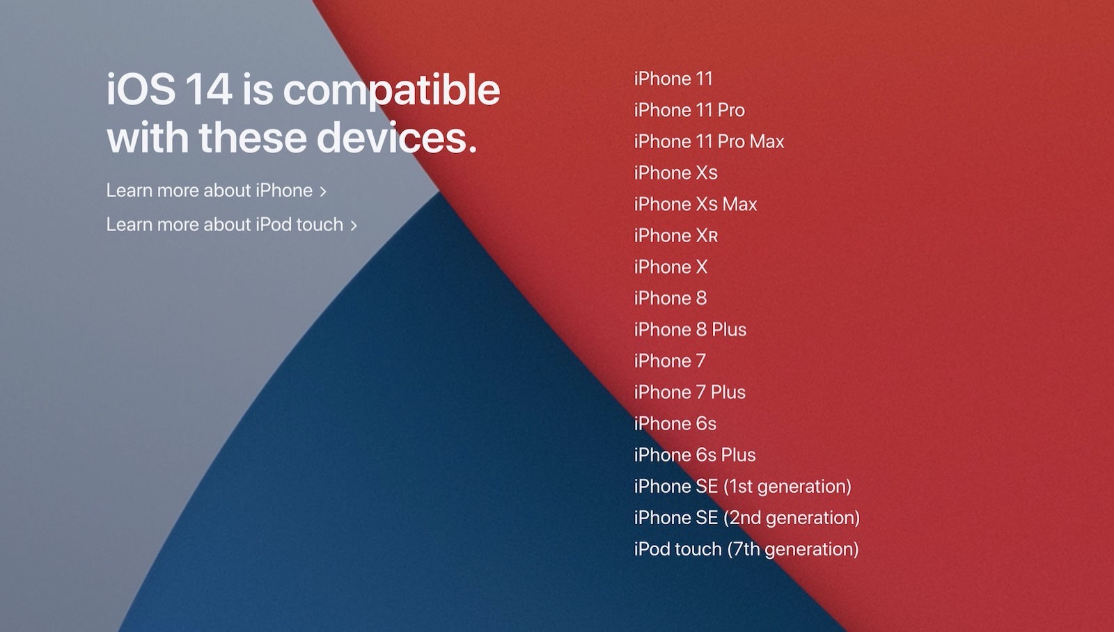 Ios14 supported devices