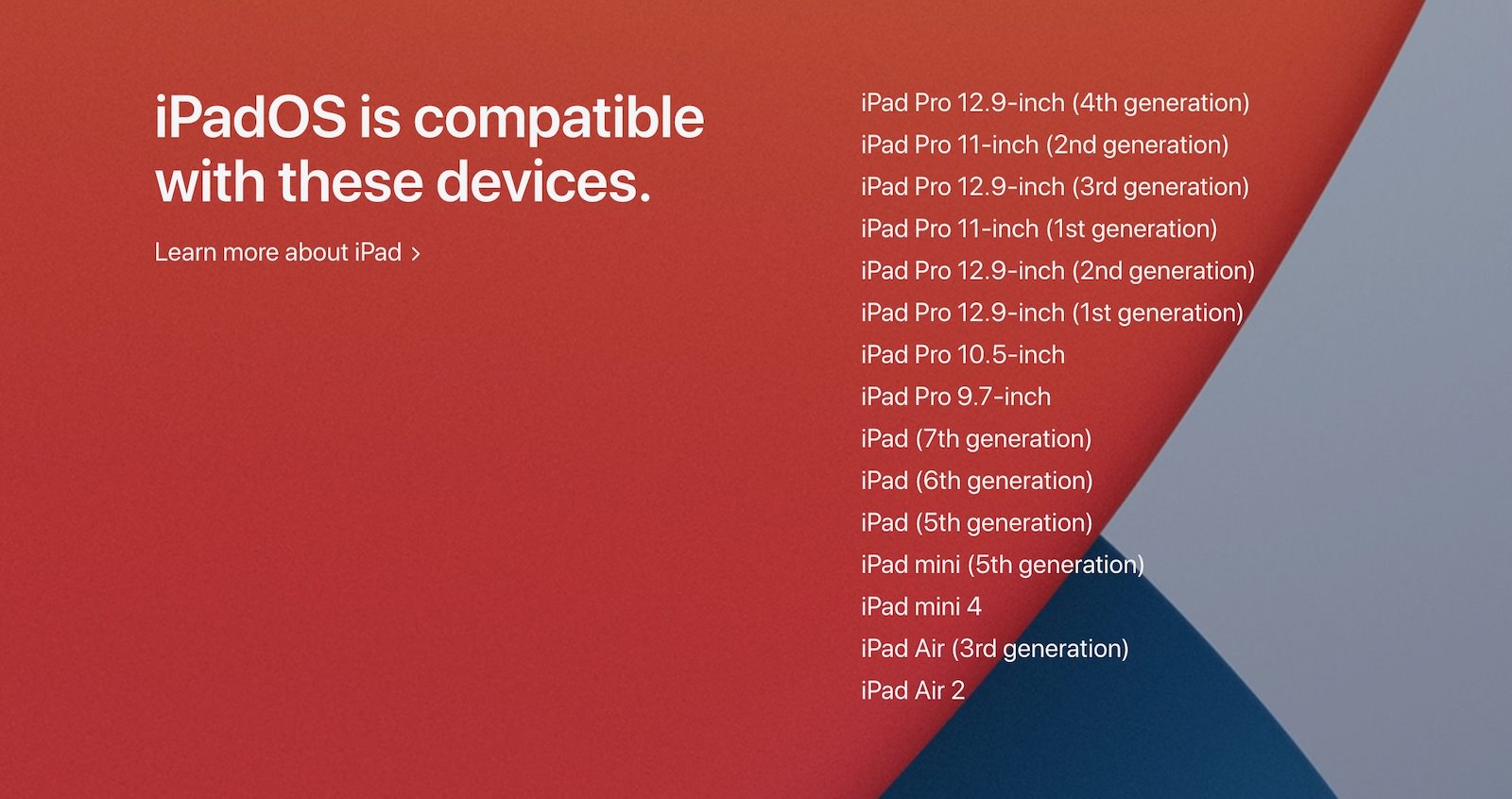 Ipados14 supported models