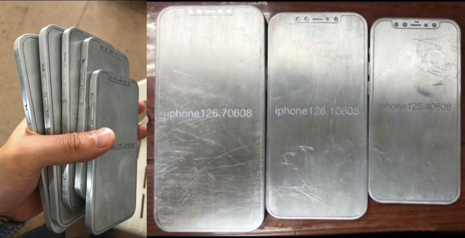 Iphone 12 mockups emerge online