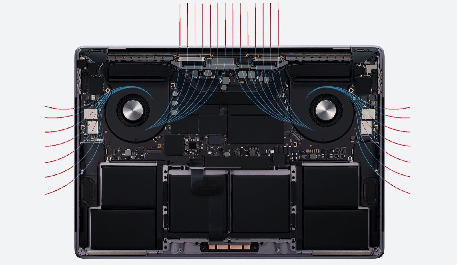 Macbook pro 16inch airflow