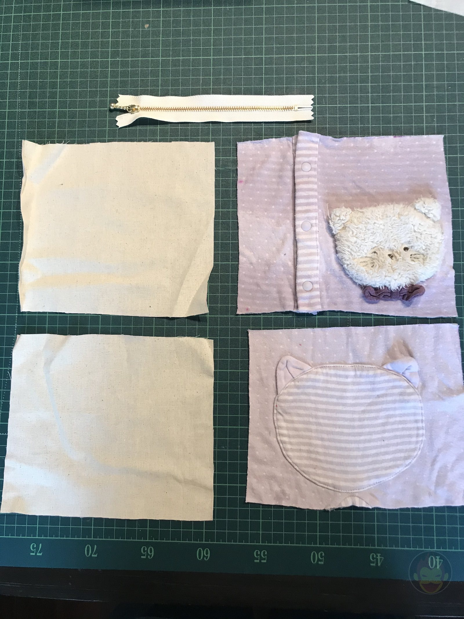 Baby Clothes remade into new items 04