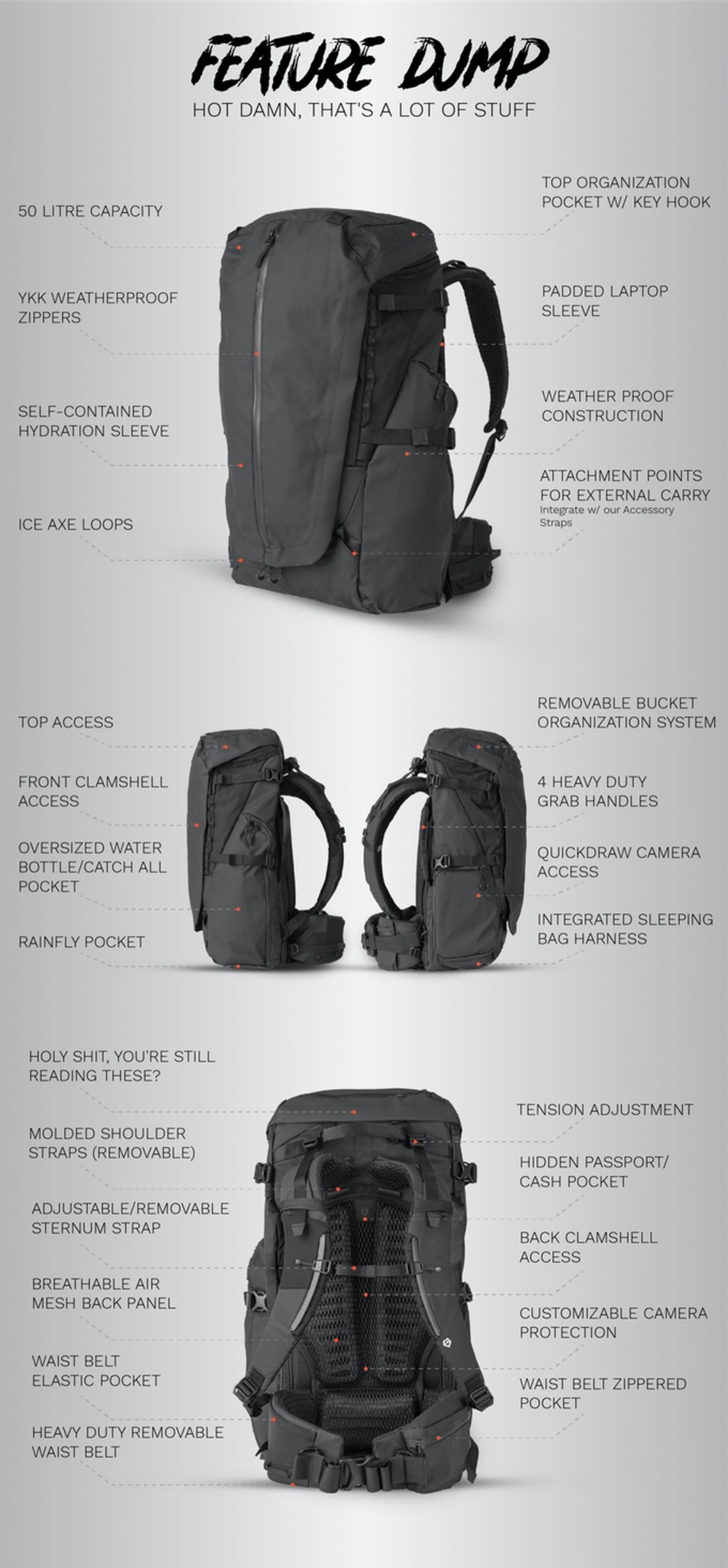Wandrd Fernweh Backpack on kickstarter 3