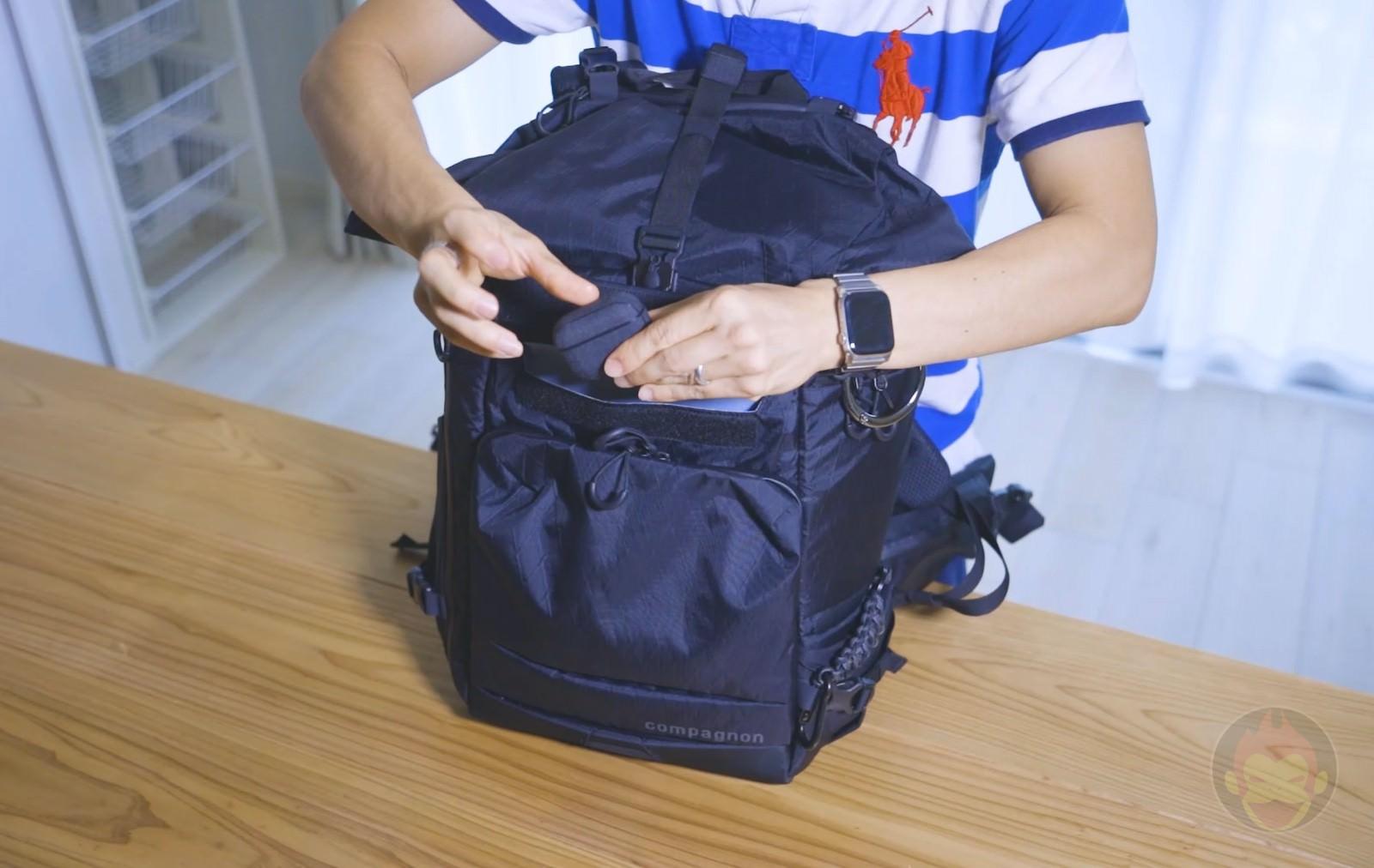Compagnon Element bakcpack flap pokcet 01