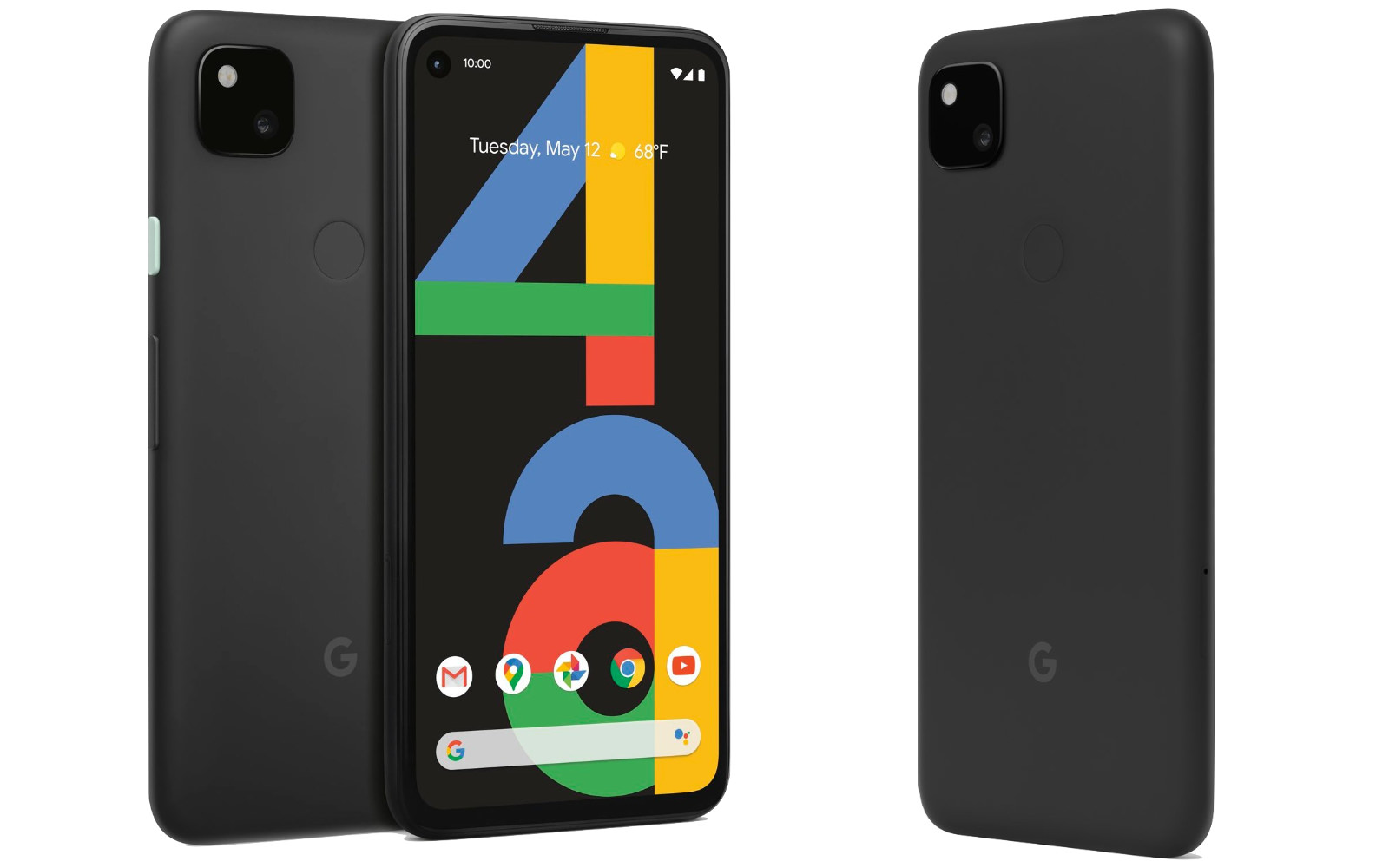 Pixel 4a rendering images