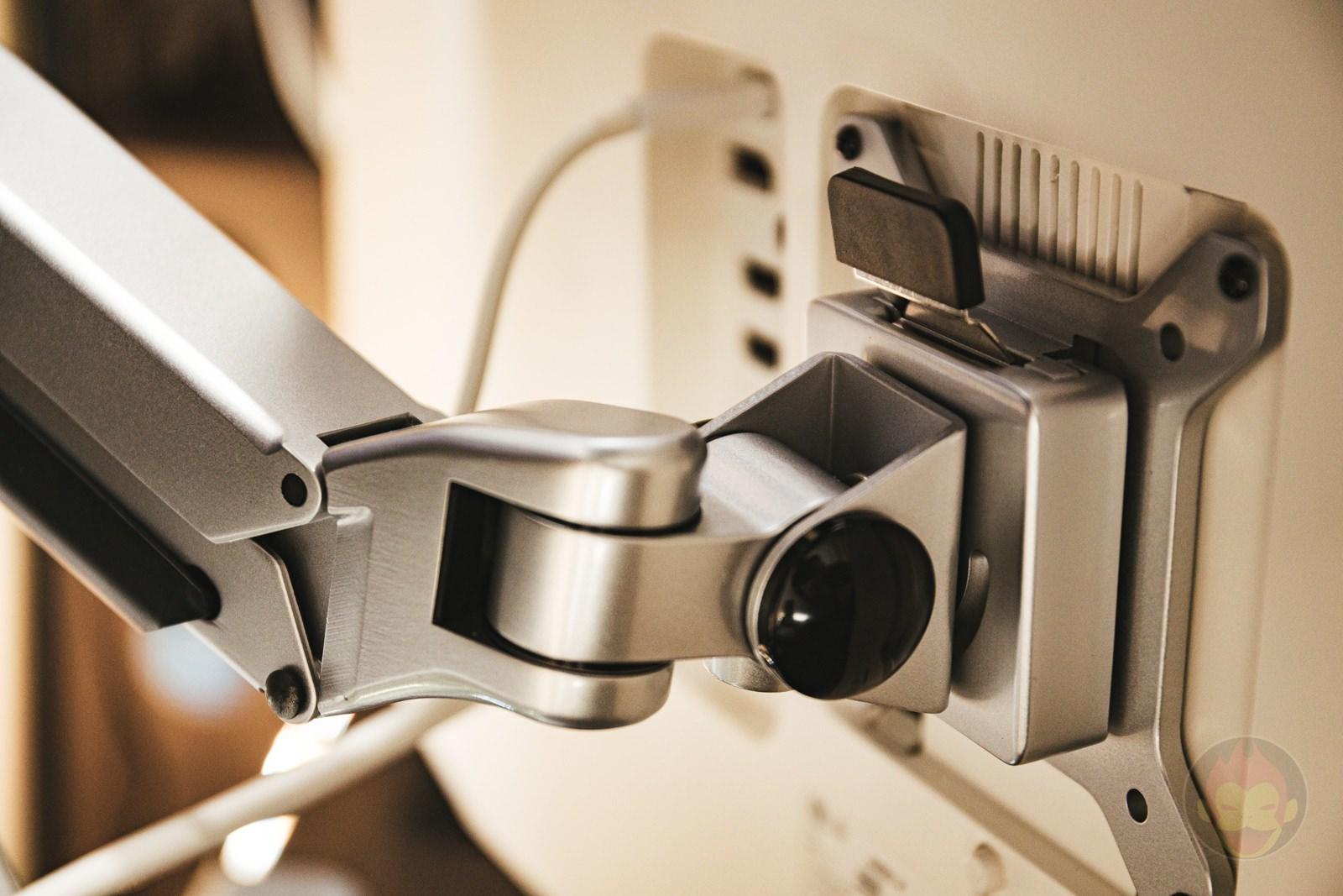 Sanwa Supply Monitor Arm Review 06