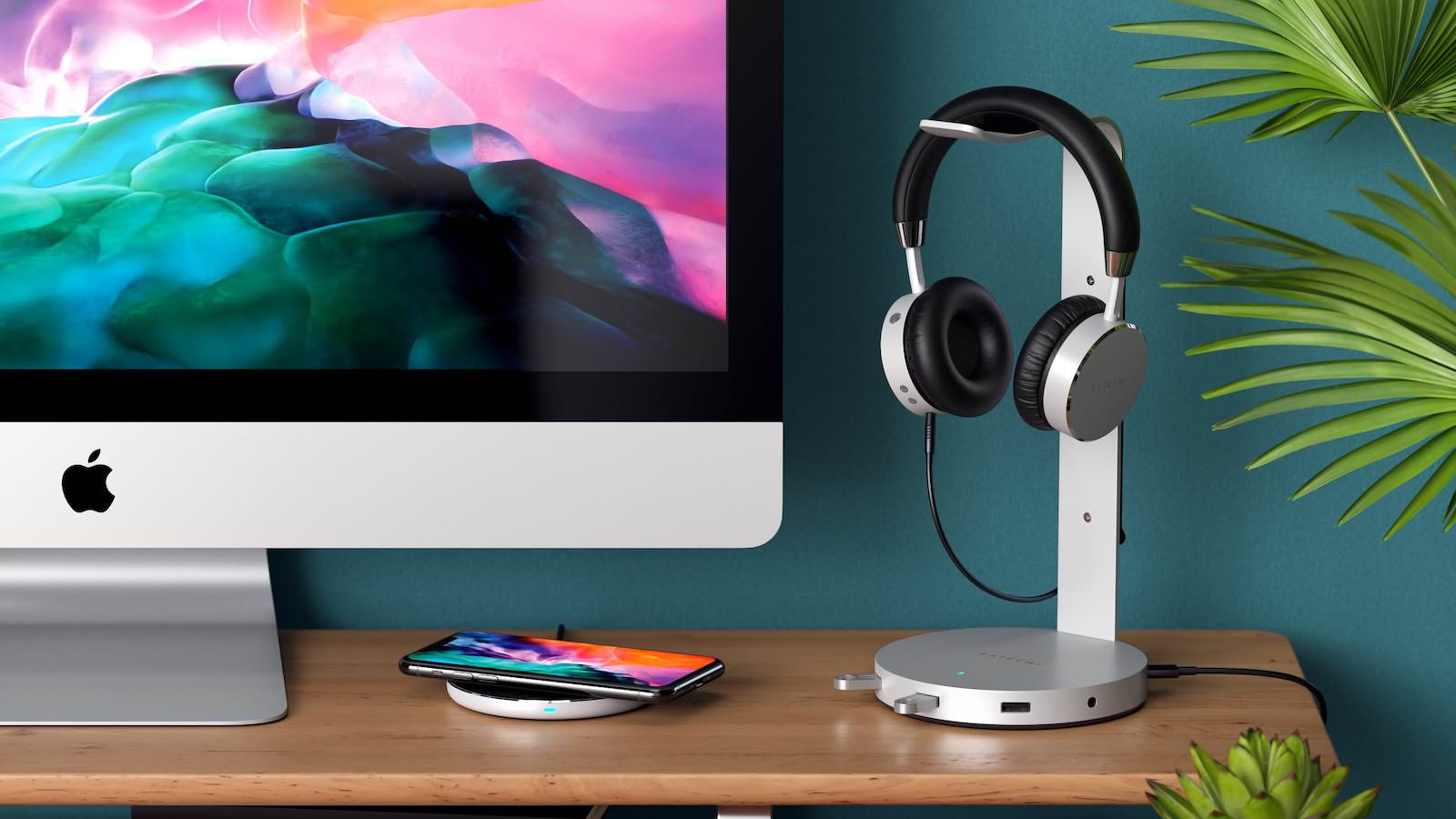 Satechi Headphone Stand with ports