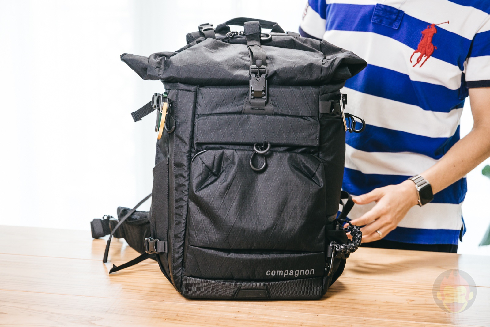 Compagnon element bacpack review 01