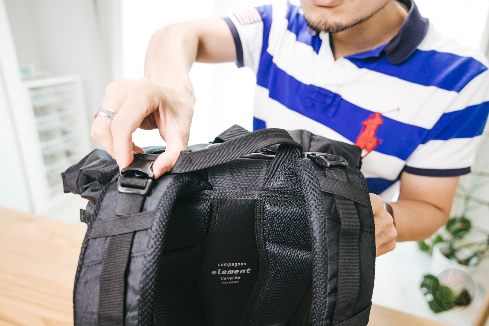 Compagnon element bacpack review 19